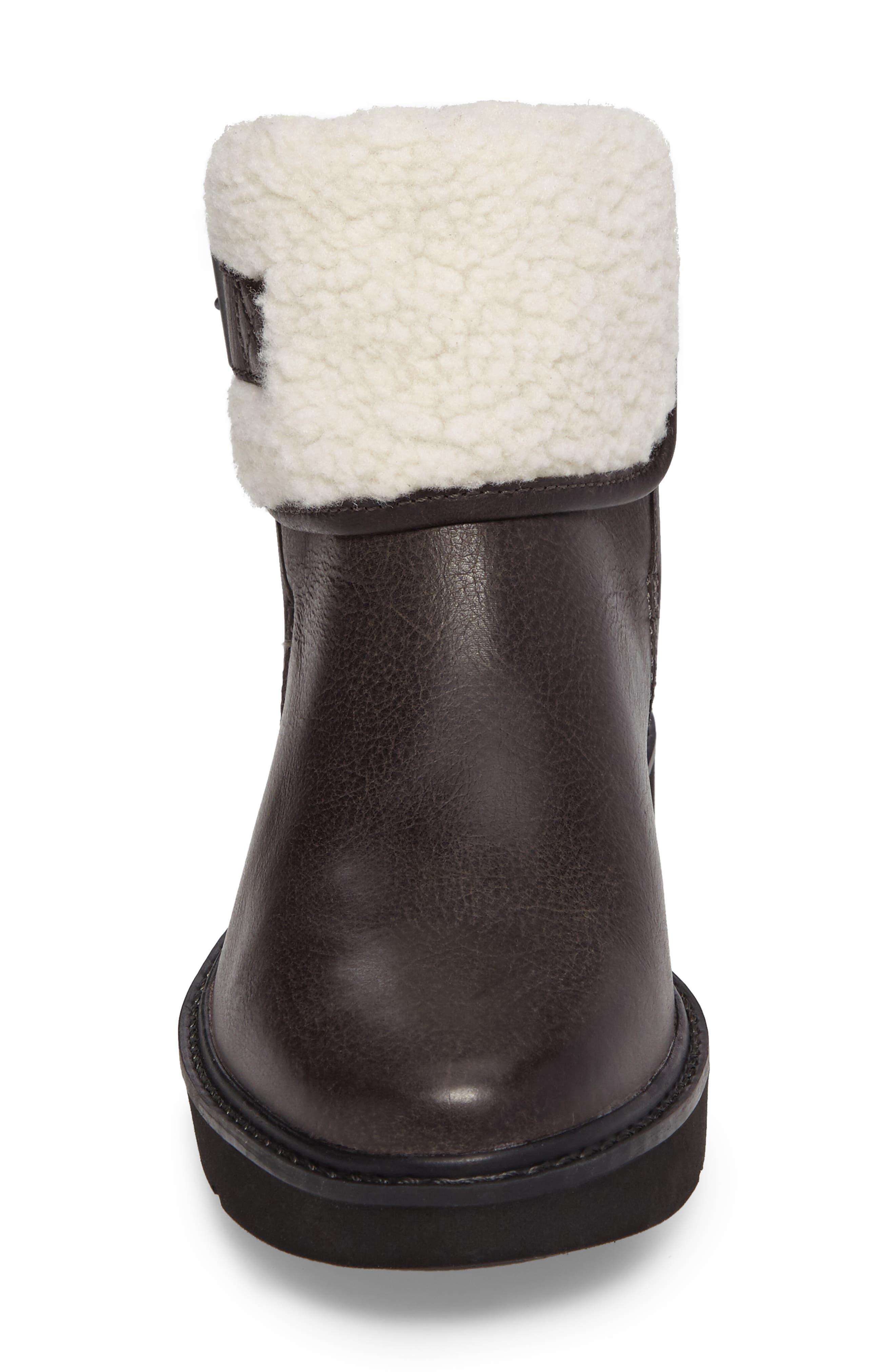 Kenniston Fleece Lined Boot,                             Alternate thumbnail 4, color,                             021