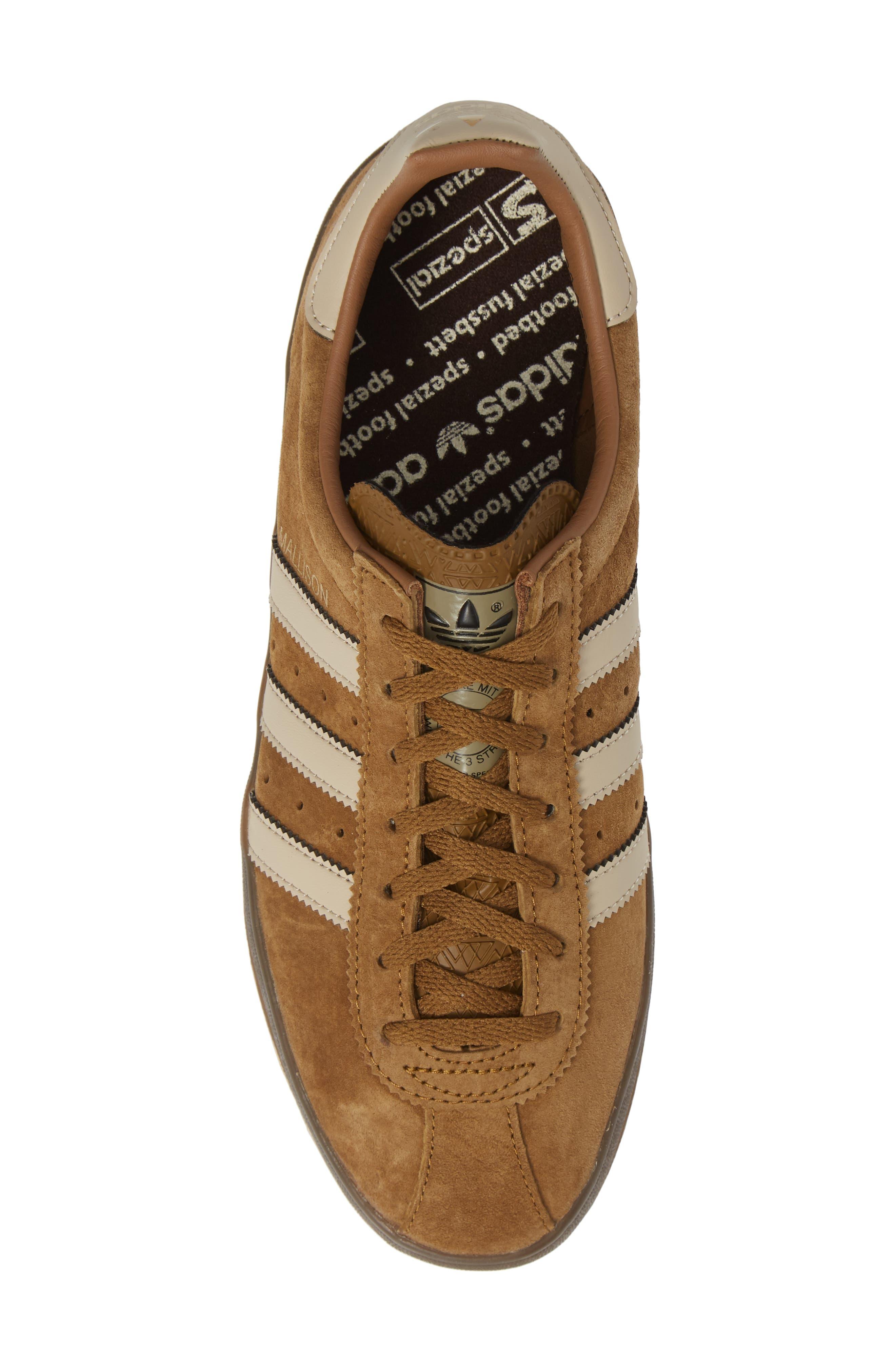 ADIDAS,                             Mallison SPZL Low Top Sneaker,                             Alternate thumbnail 5, color,                             200
