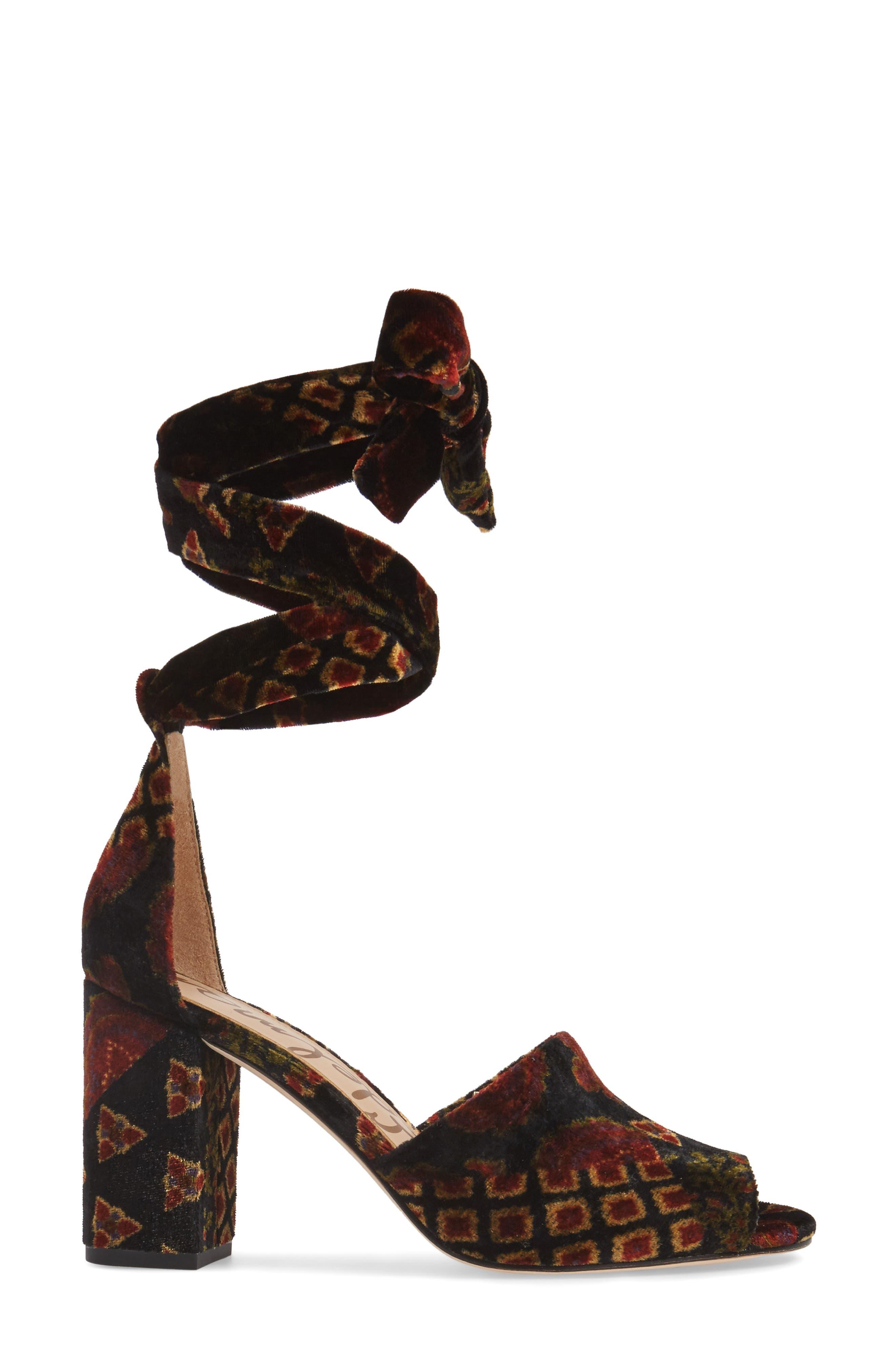 Odele Sandal,                             Alternate thumbnail 3, color,                             001