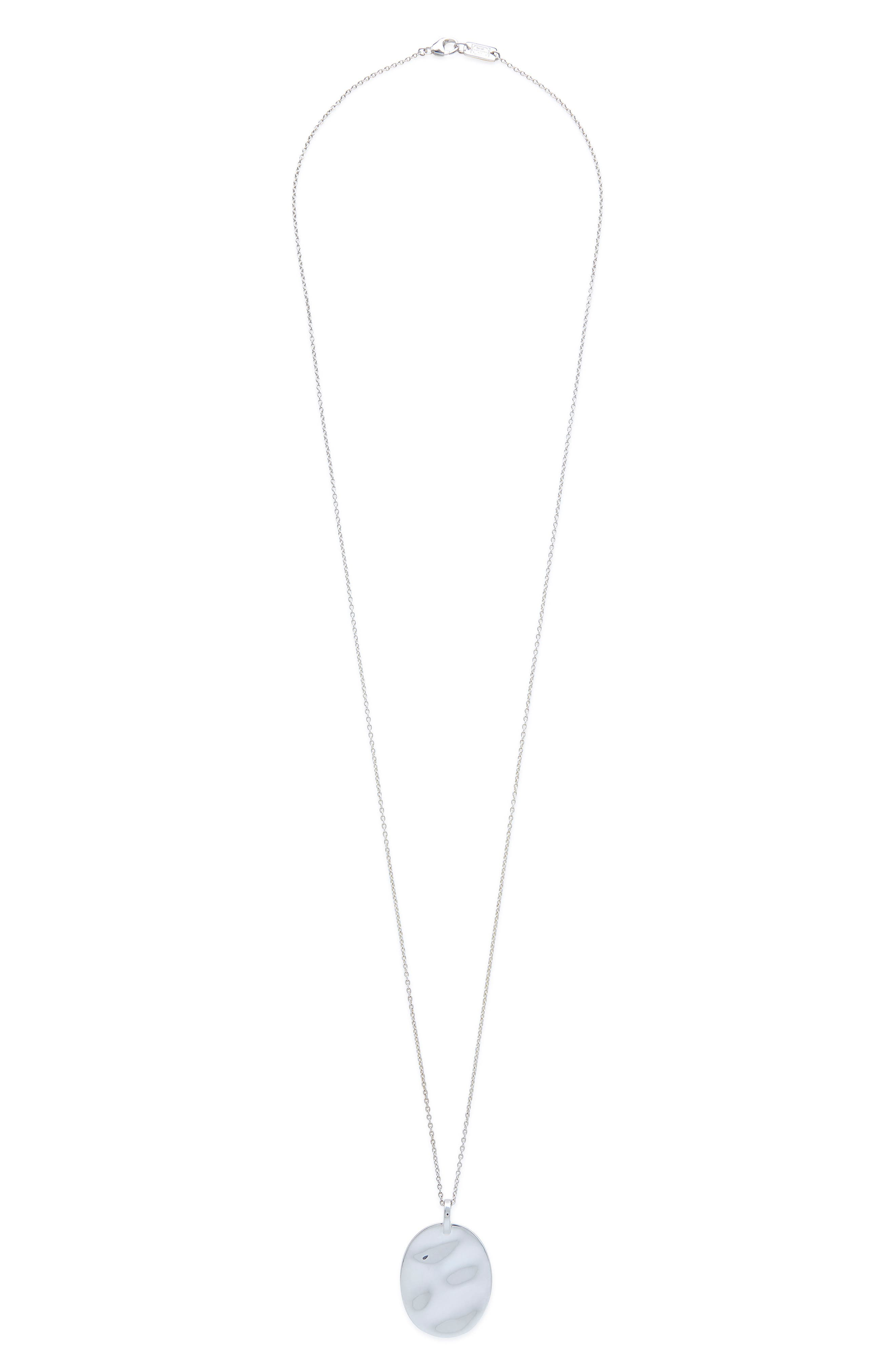 Senso Connected Pendant Necklace,                         Main,                         color, SILVER