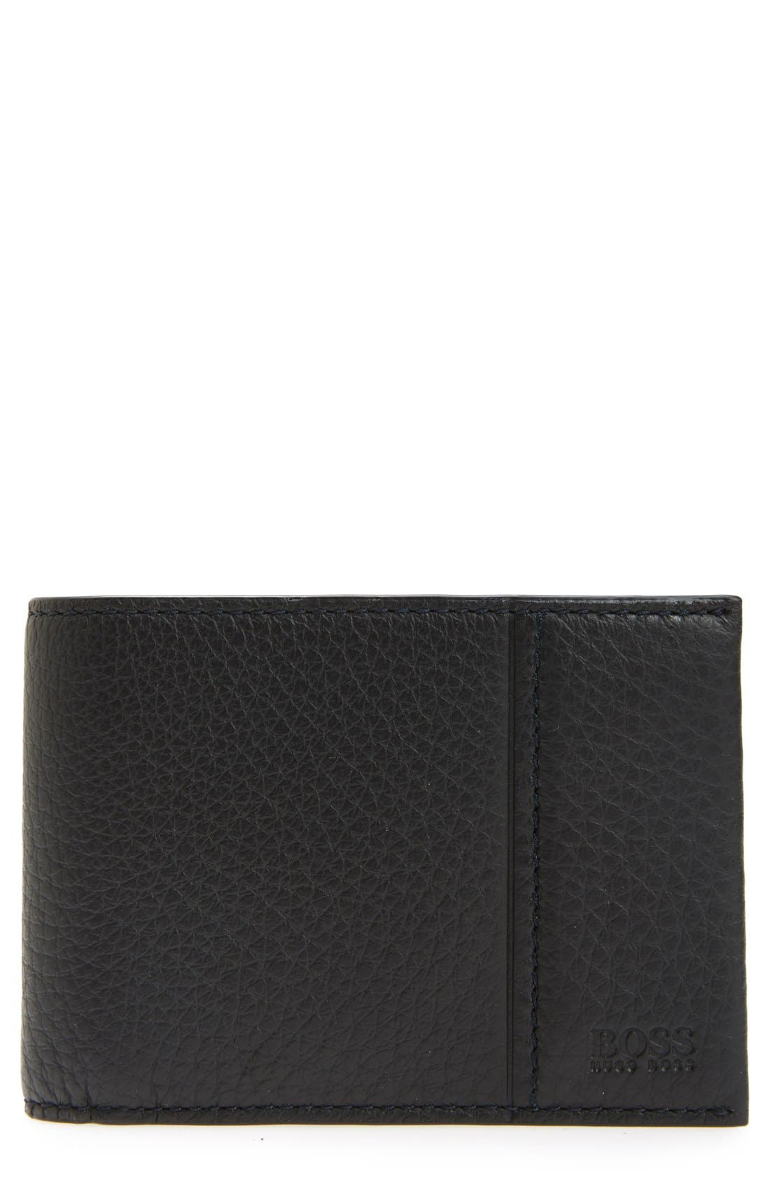 Traveler Bifold Wallet,                             Main thumbnail 1, color,