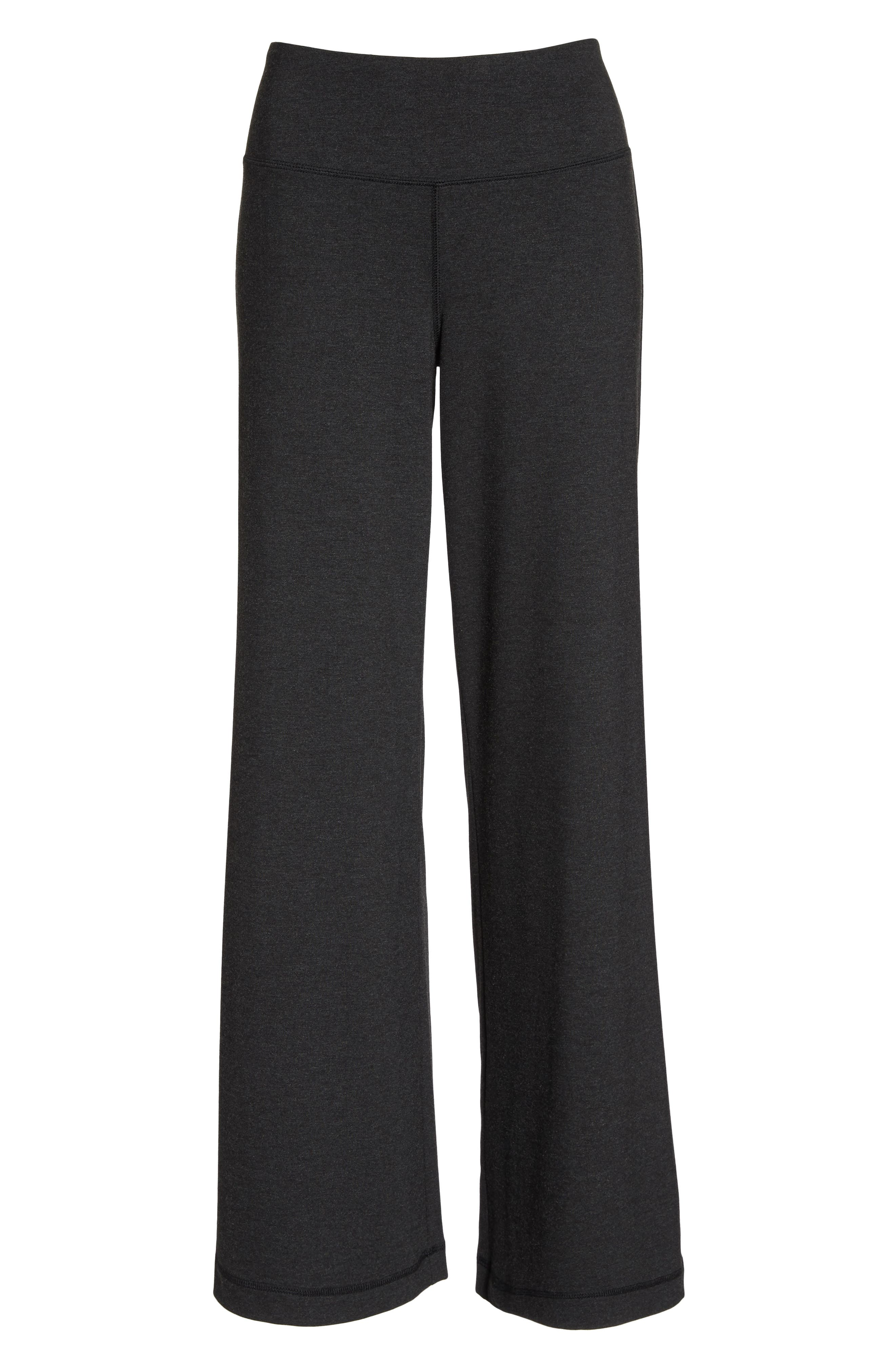 Go With The Flow Pants,                             Alternate thumbnail 7, color,                             GREY DARK CHARCOAL HEATHER