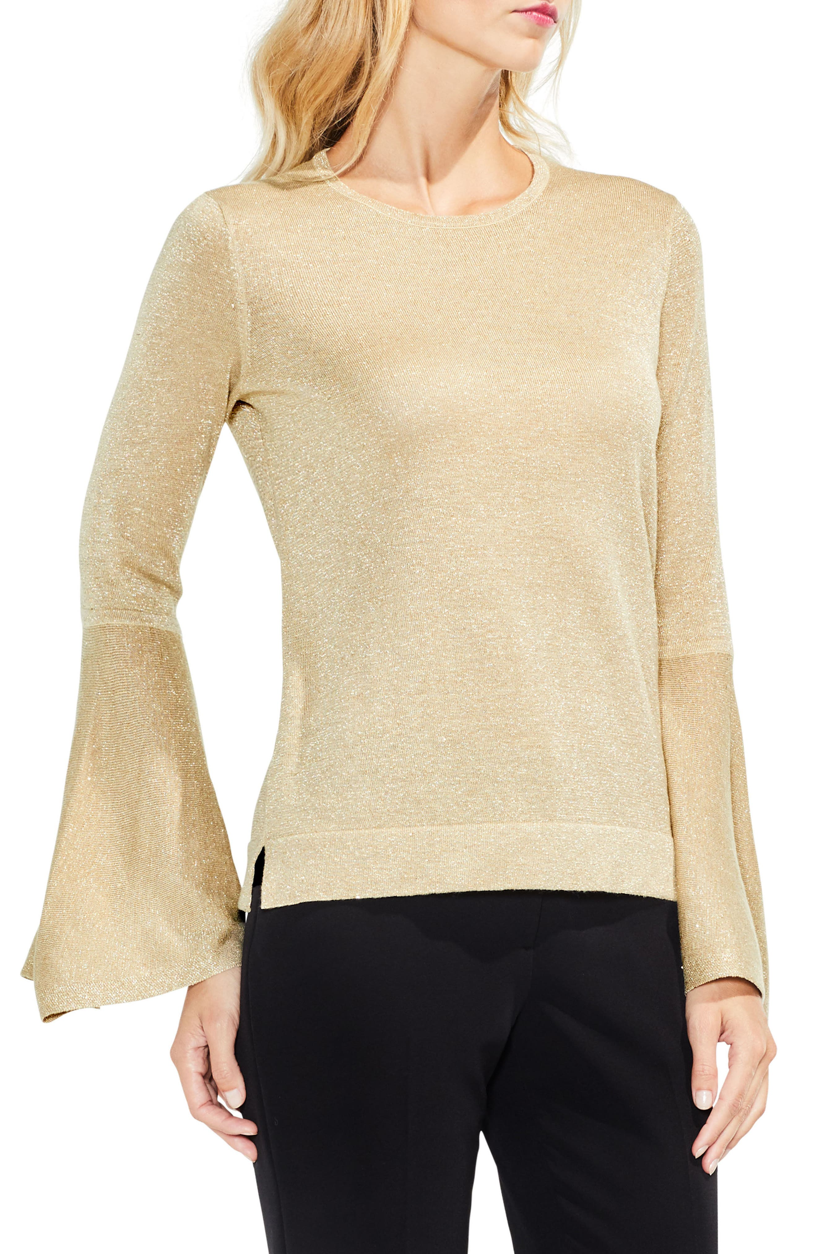 Bell Sleeve Sweater,                             Main thumbnail 6, color,