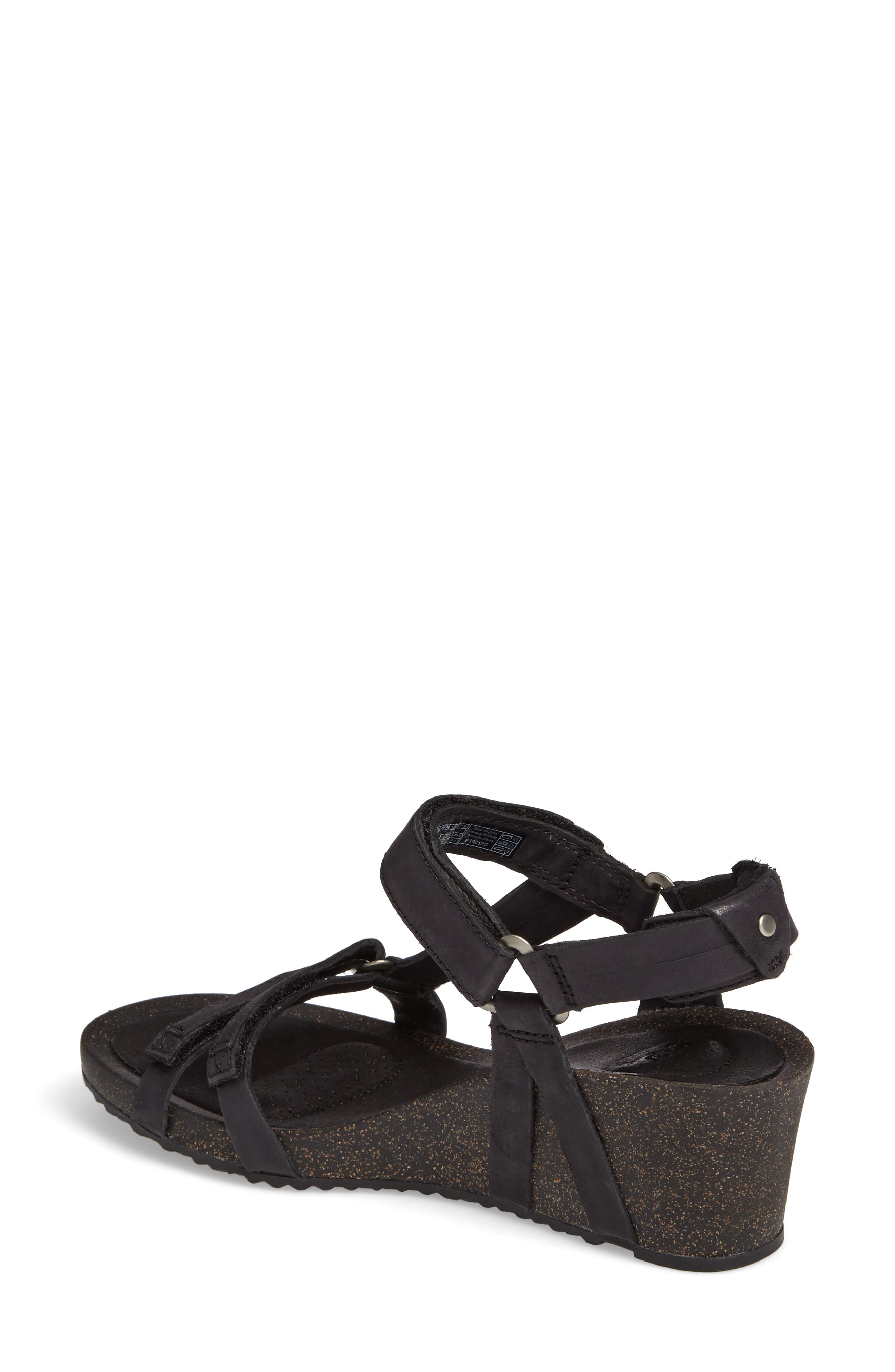 Ysidro Wedge Sandal,                             Alternate thumbnail 2, color,                             002
