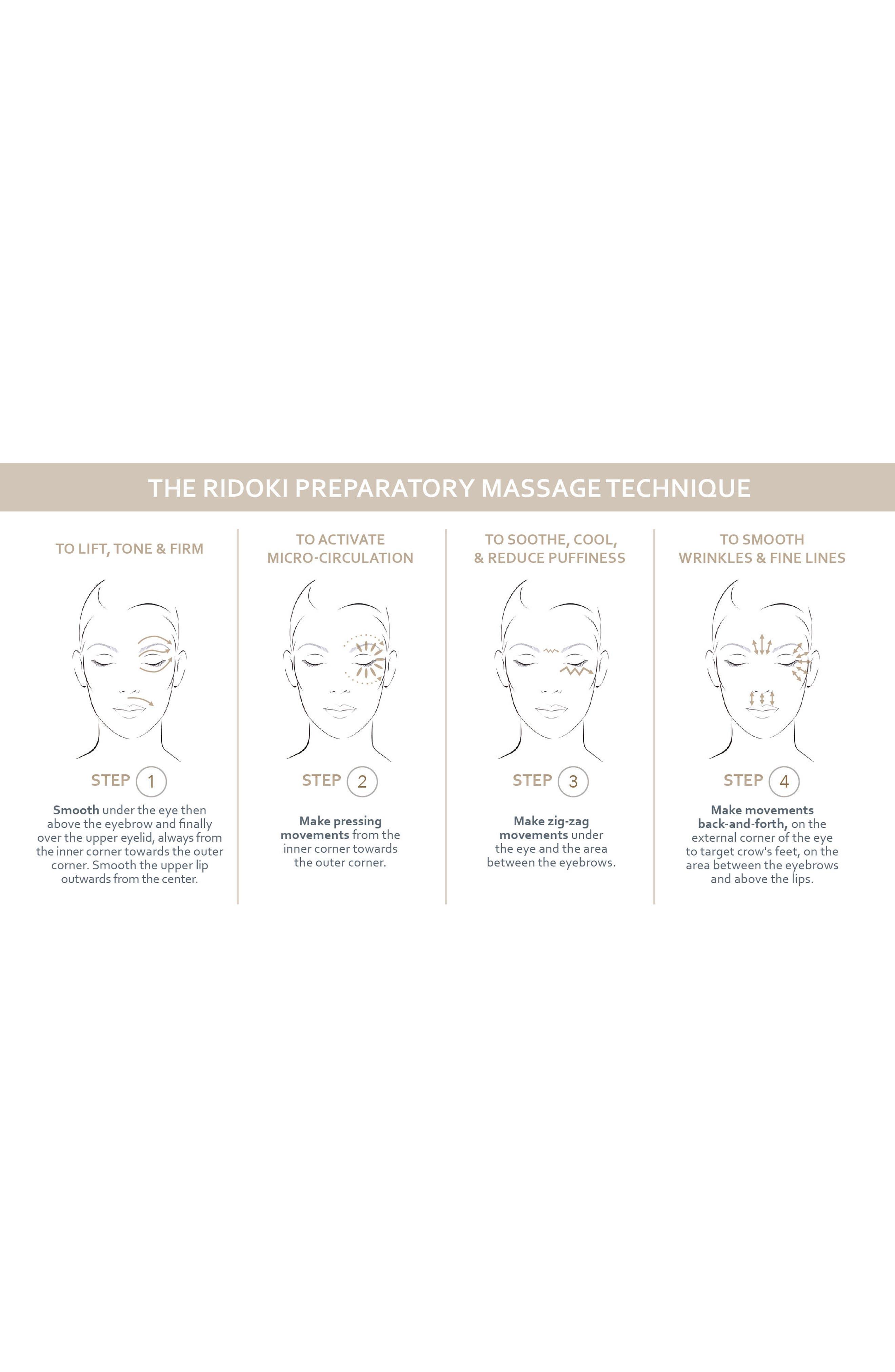 Sisleÿa L'Intégral Anti-Age Eye & Lip Contour Cream & Massage Tool,                             Alternate thumbnail 6, color,                             NO COLOR
