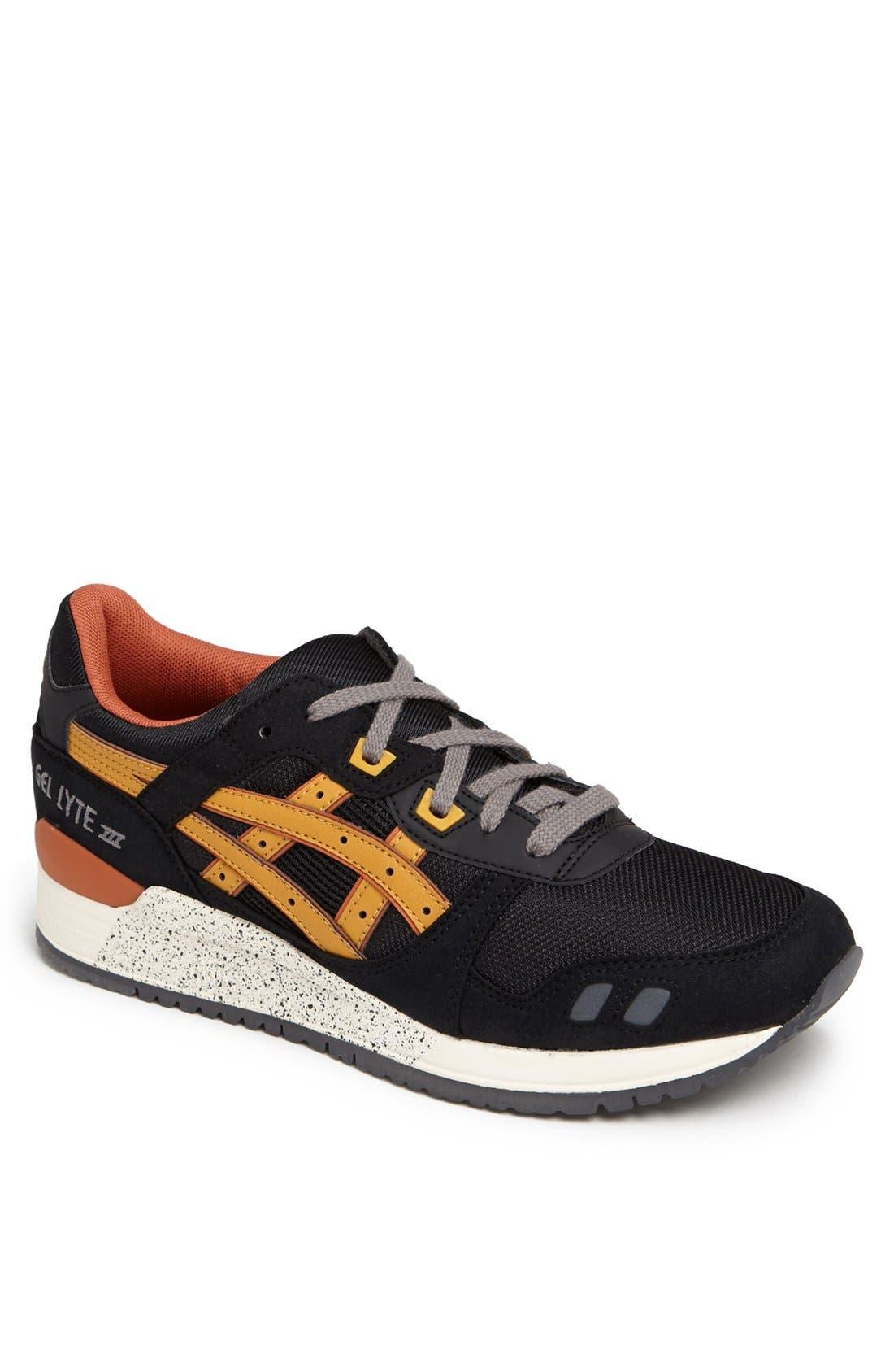 ASICS<SUP>®</SUP>,                             'GEL-Lyte III' Sneaker,                             Main thumbnail 1, color,                             002