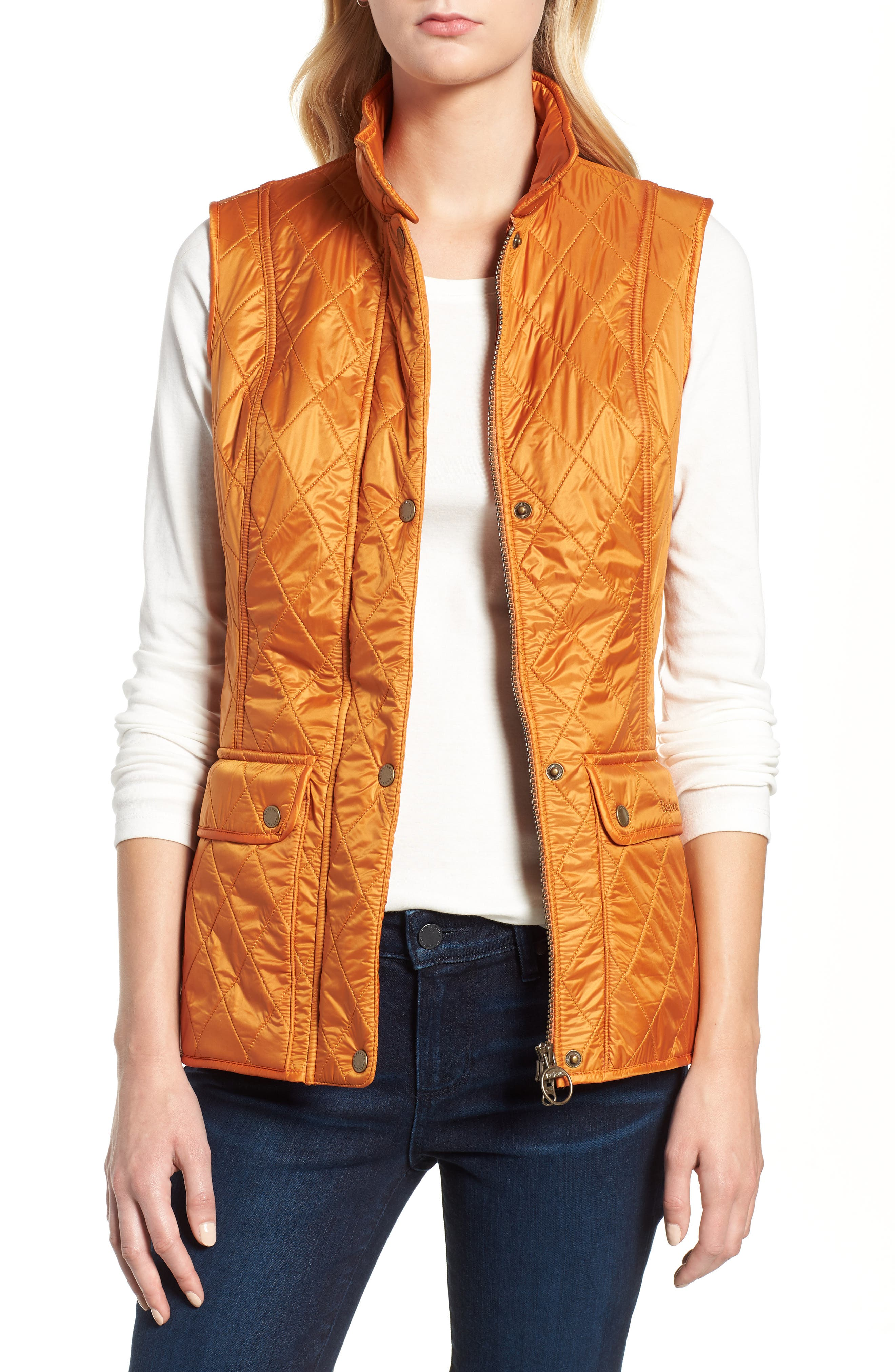 Barbour Wray Vest, US / 8 UK - Orange