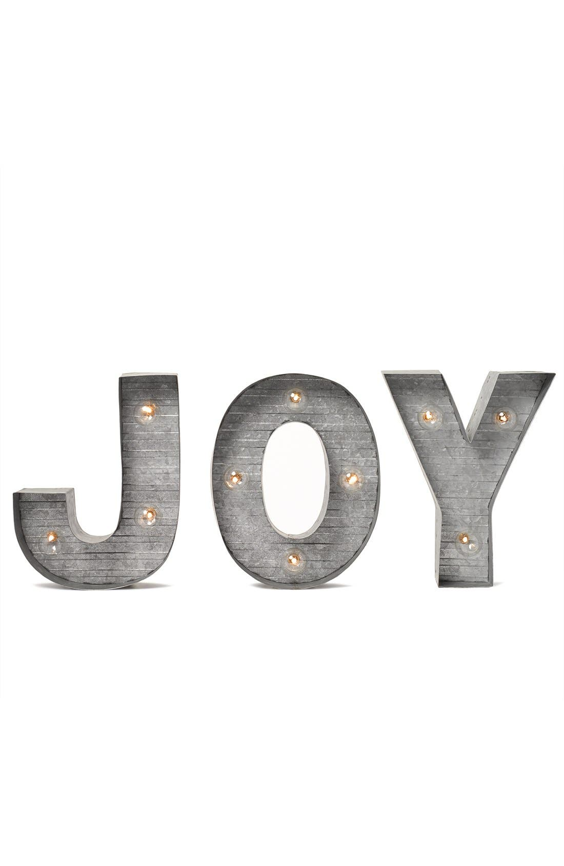 CRYSTAL ART GALLERY,                             LED Metal Marquee Letter Light,                             Alternate thumbnail 3, color,                             040