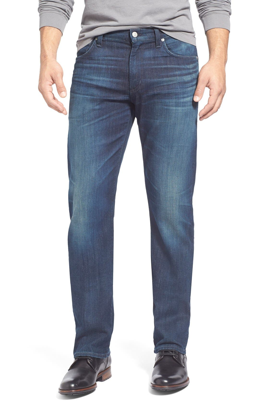 'Sid Classic' Straight Leg Jeans,                             Main thumbnail 1, color,                             473