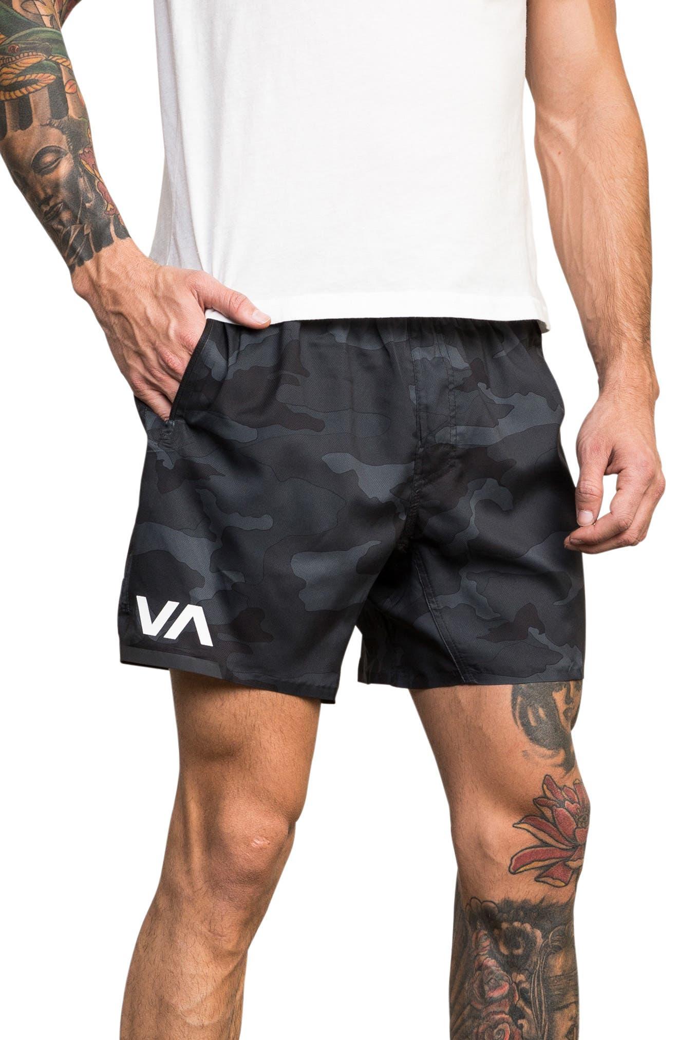 Rvca Tech Shorts, Green