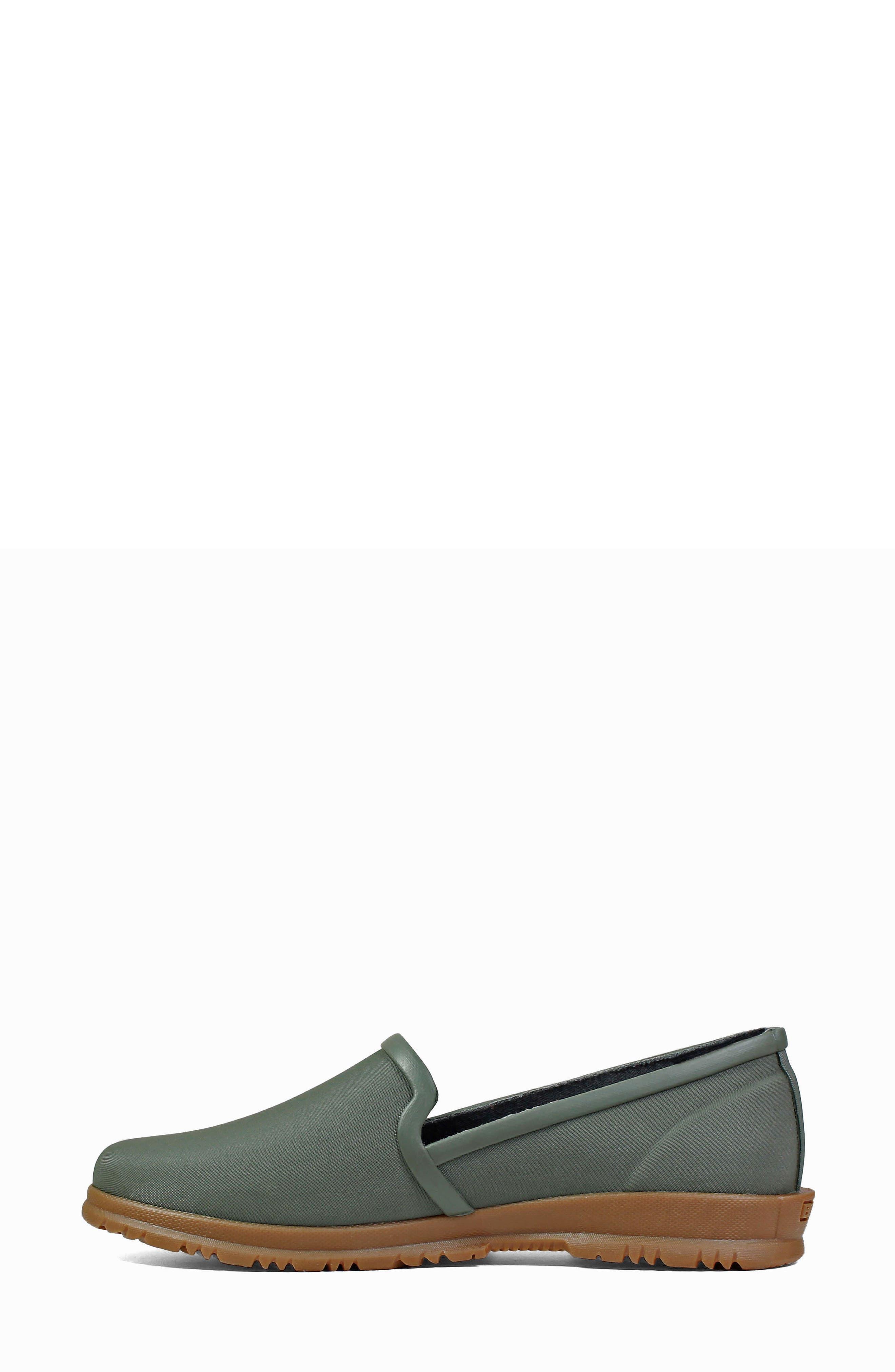 BOGS,                             Sweetpea Waterproof Slip-On Sneaker,                             Alternate thumbnail 9, color,                             SAGE