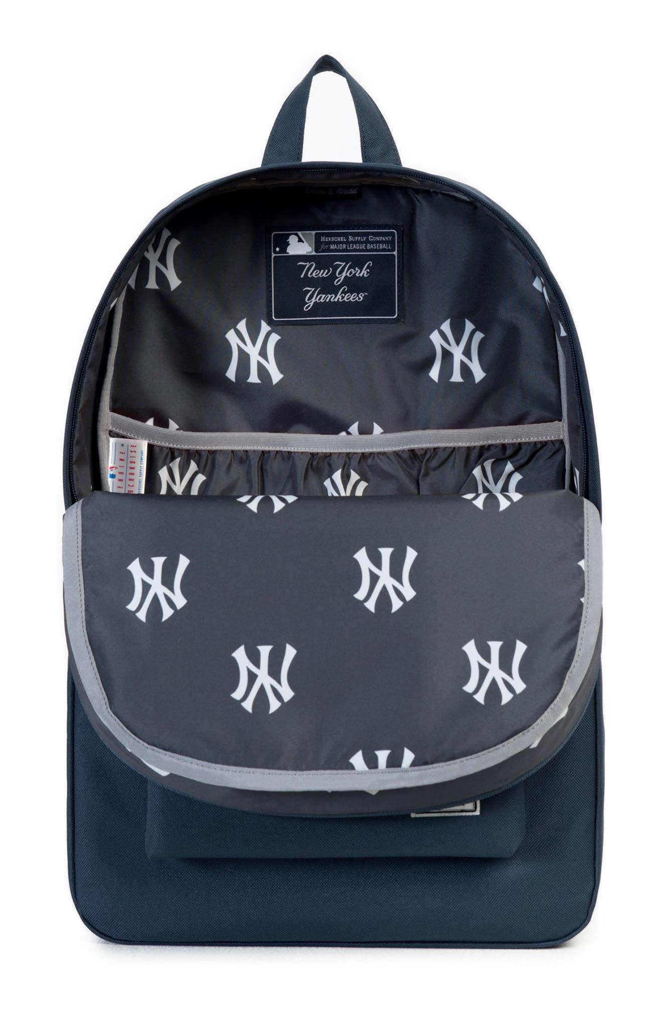 HERSCHEL SUPPLY CO.,                             Heritage New York Yankees Backpack,                             Alternate thumbnail 3, color,                             NEW YORK YANKEES