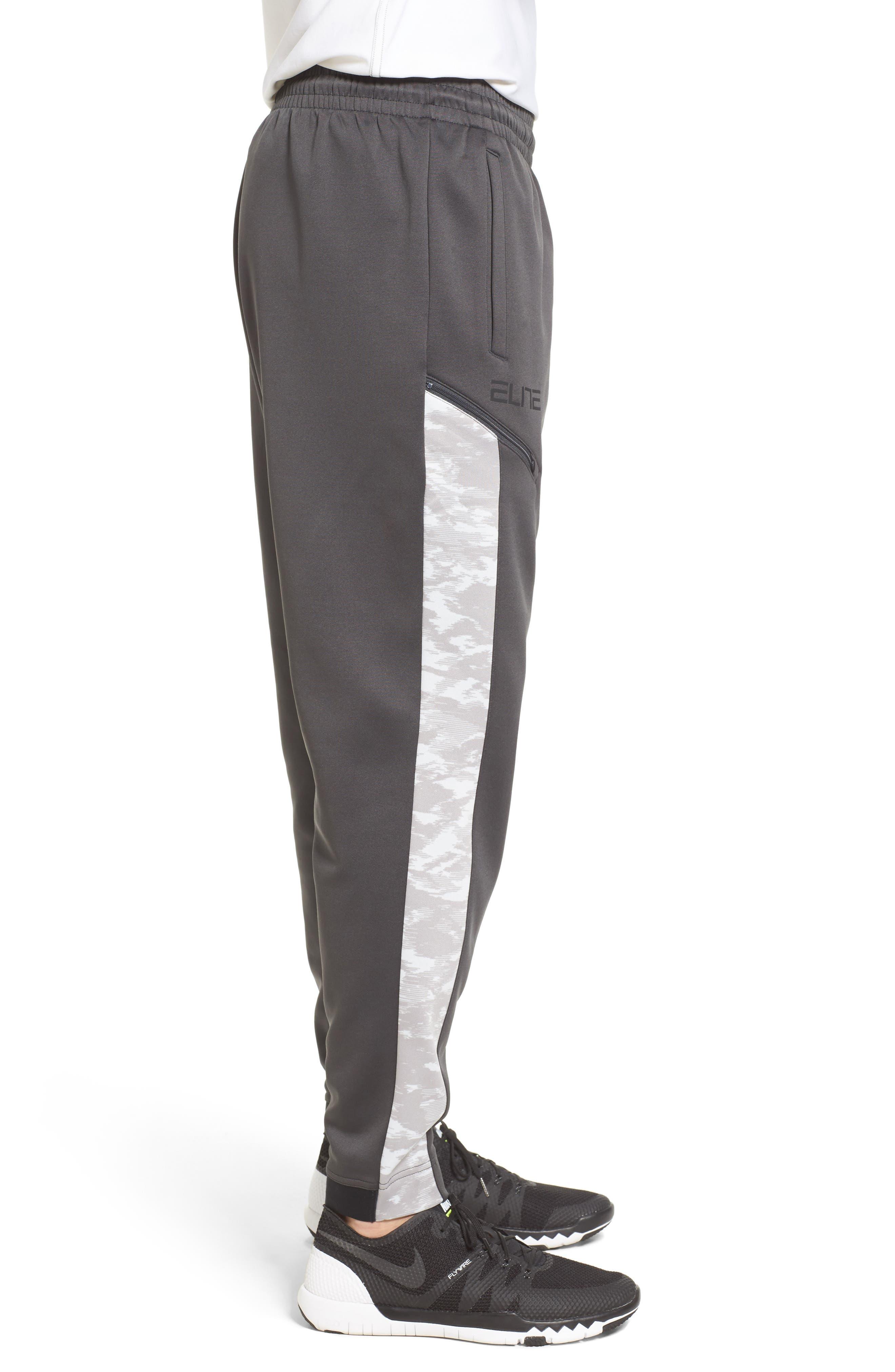 Therma Elite Basketball Pants,                             Alternate thumbnail 6, color,