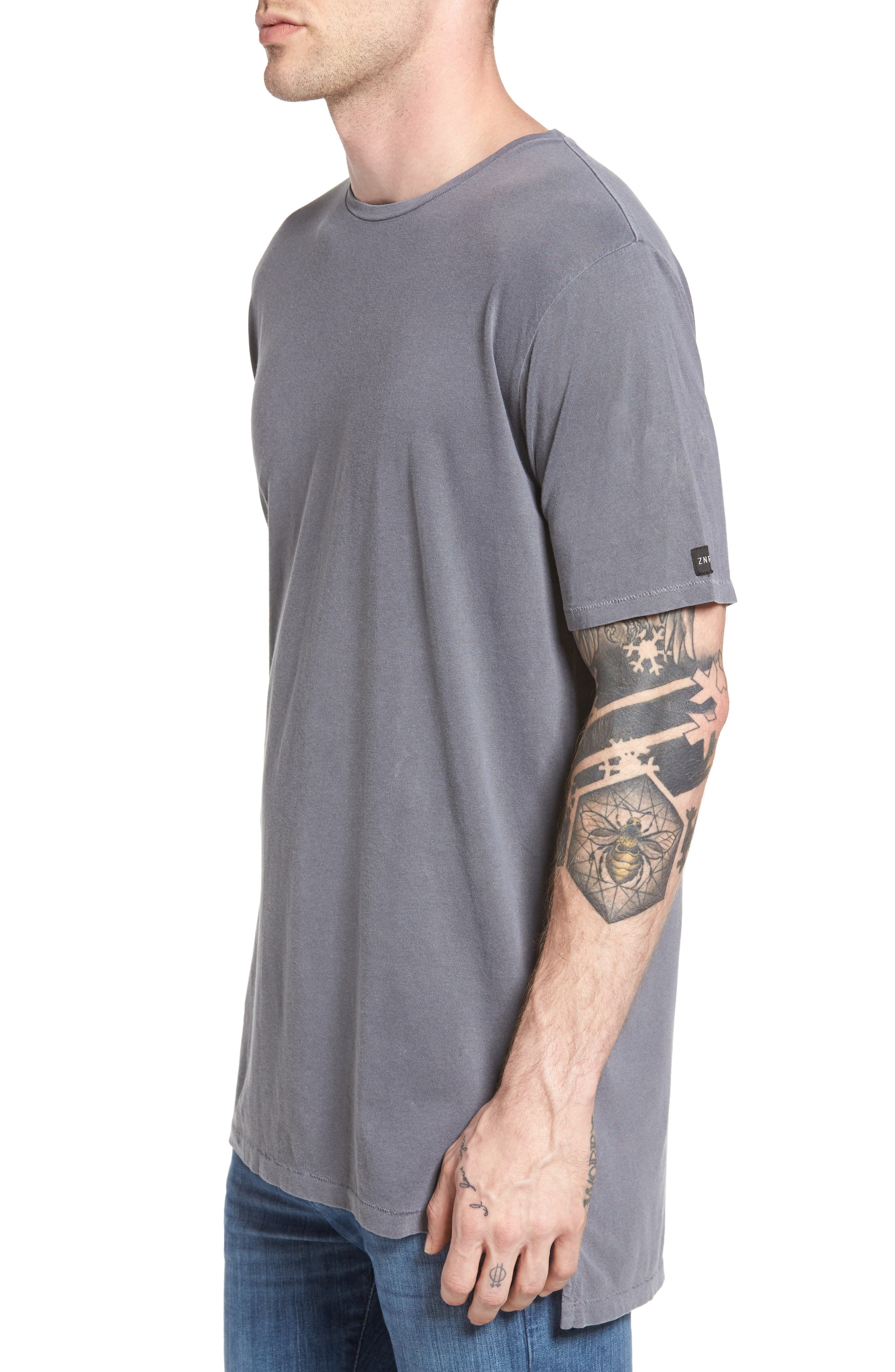 Flintlock Longline T-Shirt,                             Alternate thumbnail 3, color,                             029
