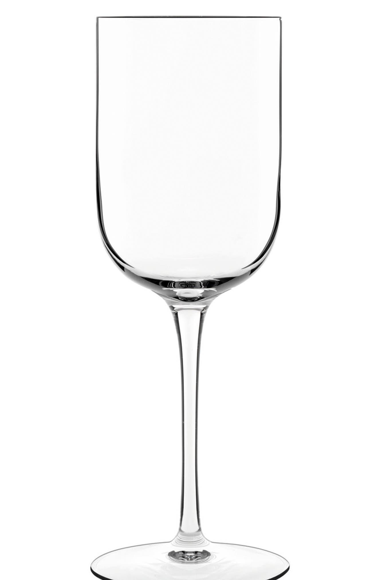 'Sublime' White Wine Glasses,                             Main thumbnail 1, color,                             CLEAR