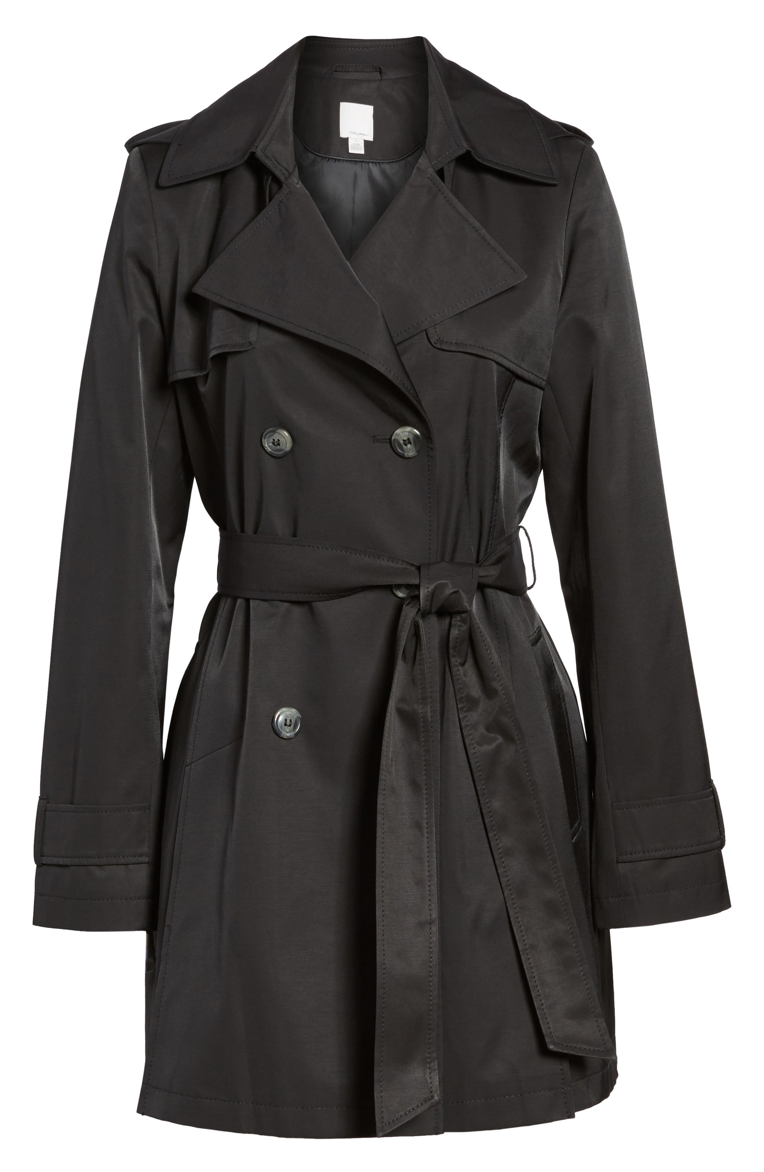 Detachable Hood Trench Coat,                             Alternate thumbnail 11, color,