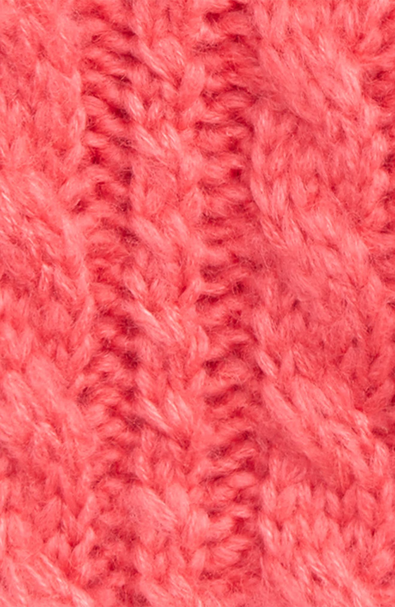 Cable Knit Mittens,                             Alternate thumbnail 2, color,