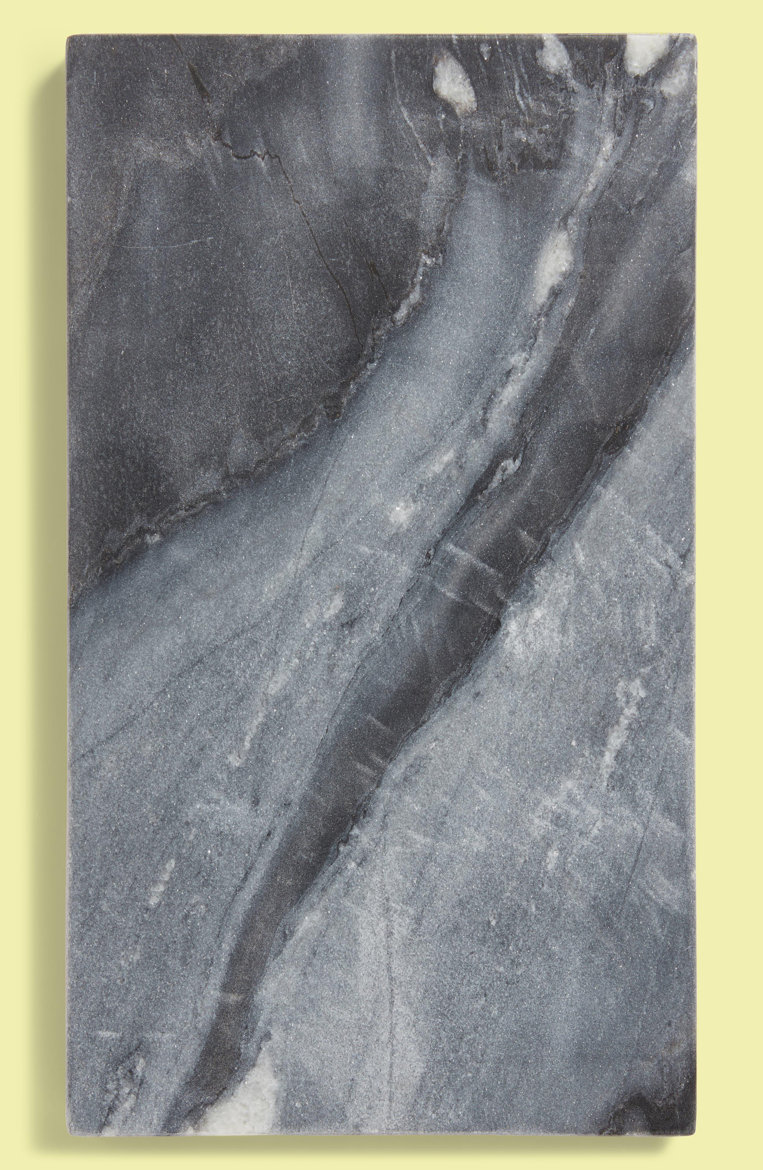 BE HOME,                             Blue Marble & Mango Wood Reversible Serving Board,                             Main thumbnail 1, color,                             200