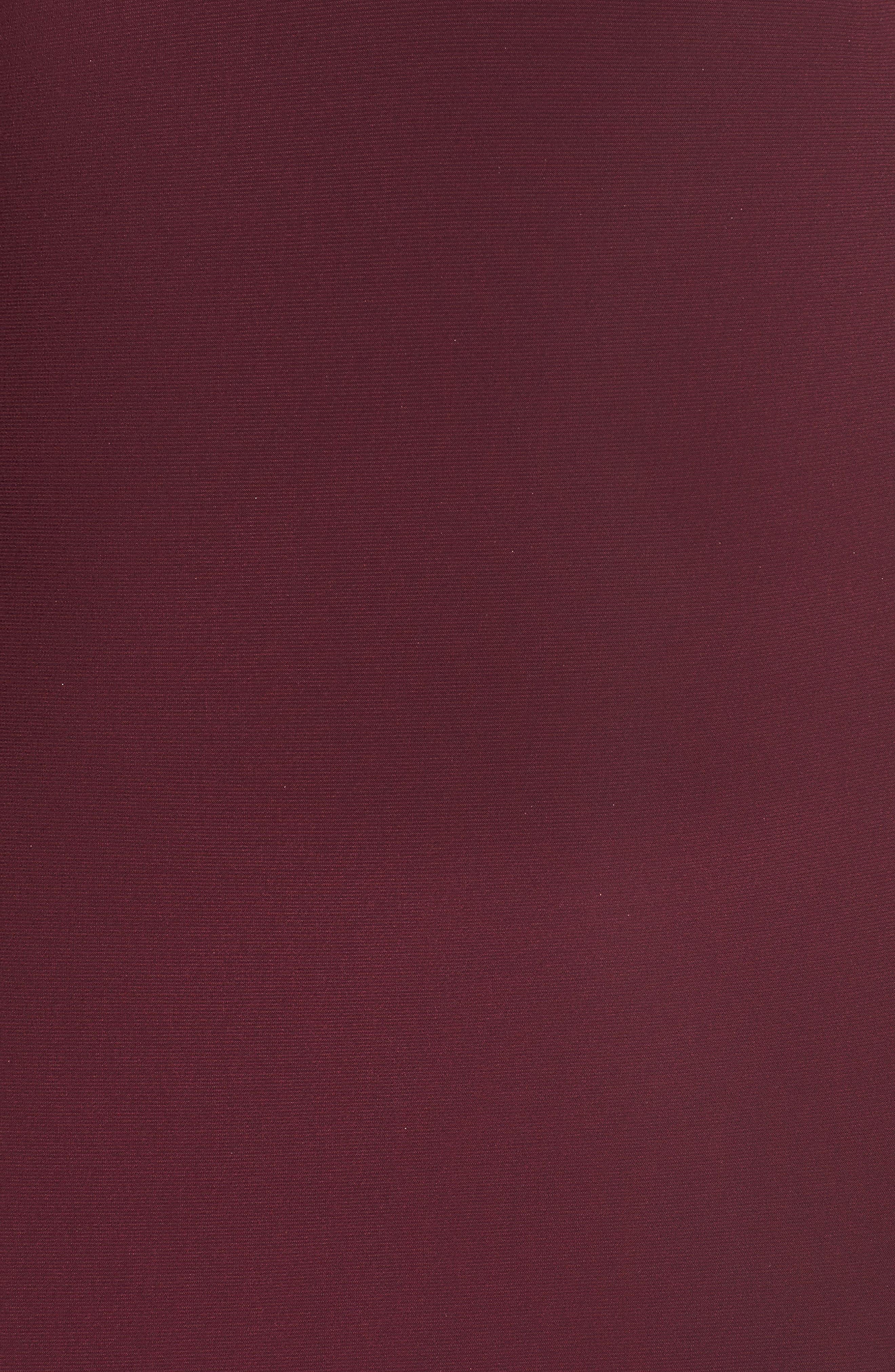 Embellished Back Jersey Gown,                             Alternate thumbnail 5, color,                             607