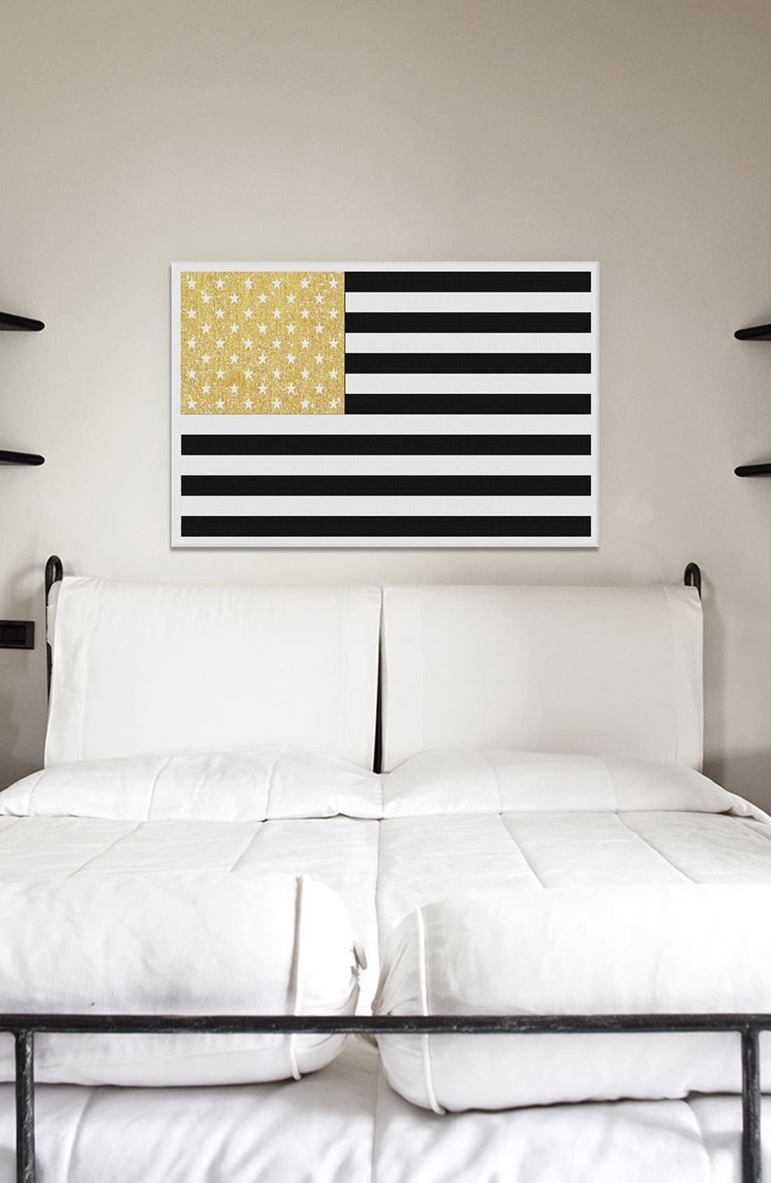 'Gold Flag II' Giclée Print Canvas Art,                             Alternate thumbnail 2, color,                             001