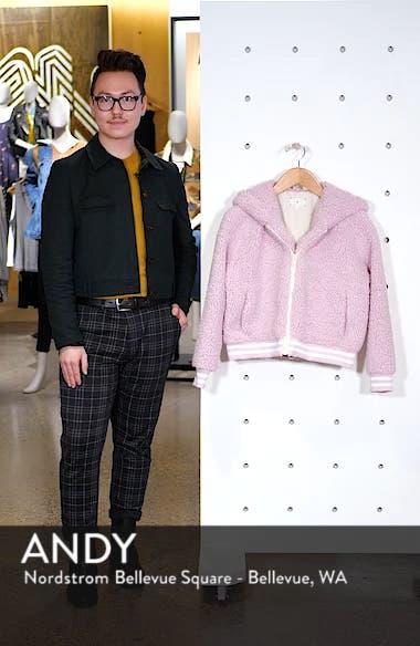 Frida Faux Fur Hooded Jacket, sales video thumbnail