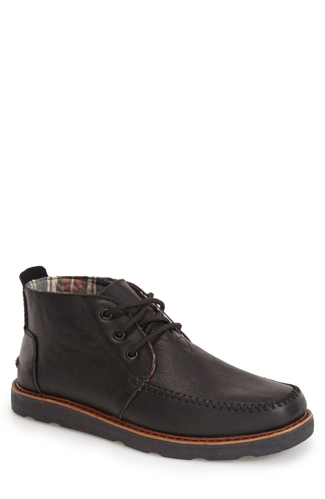 Waterproof Chukka Boot,                             Main thumbnail 1, color,                             001