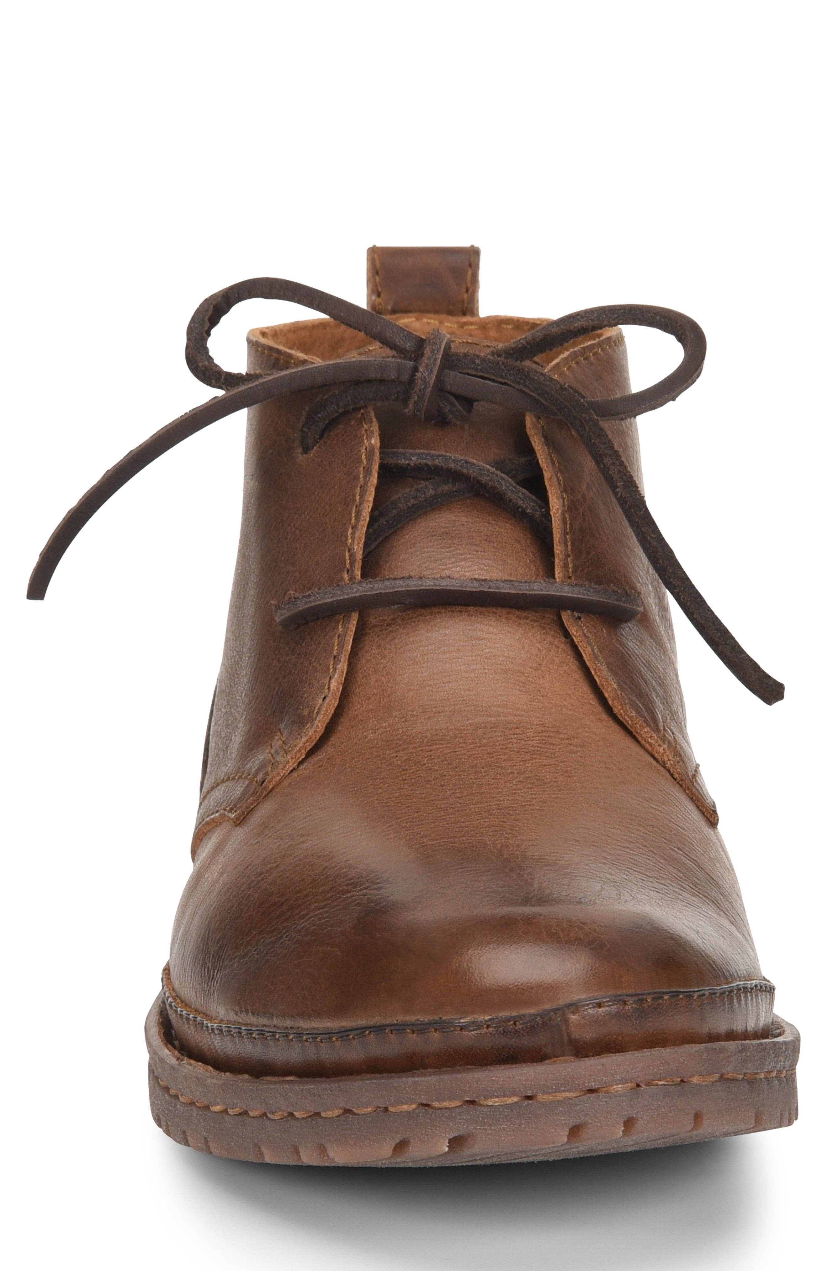 Elk II Chukka Boot,                             Alternate thumbnail 4, color,                             BROWN/BROWN LEATHER