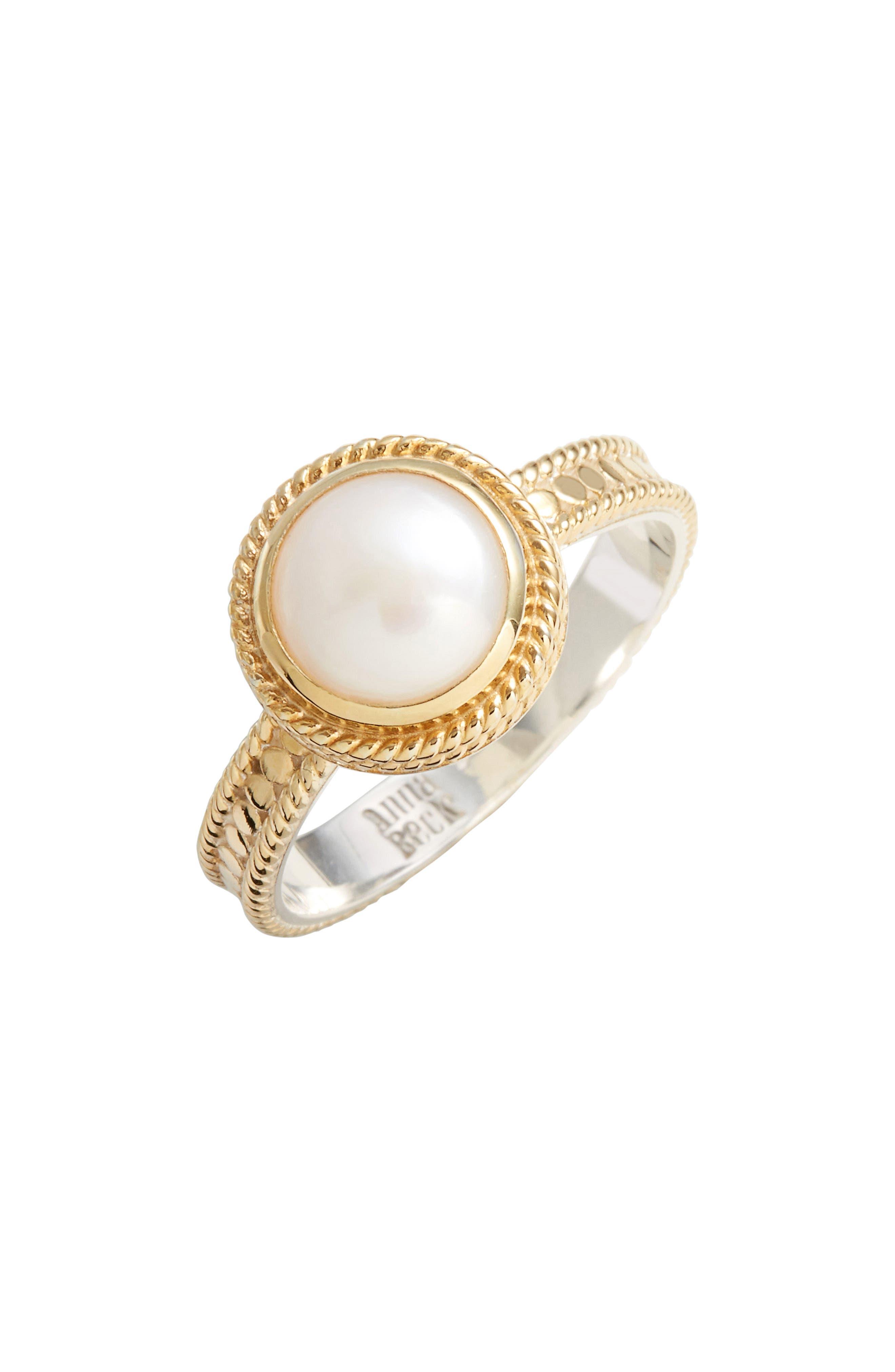 Semiprecious Stone Ring,                         Main,                         color, 100