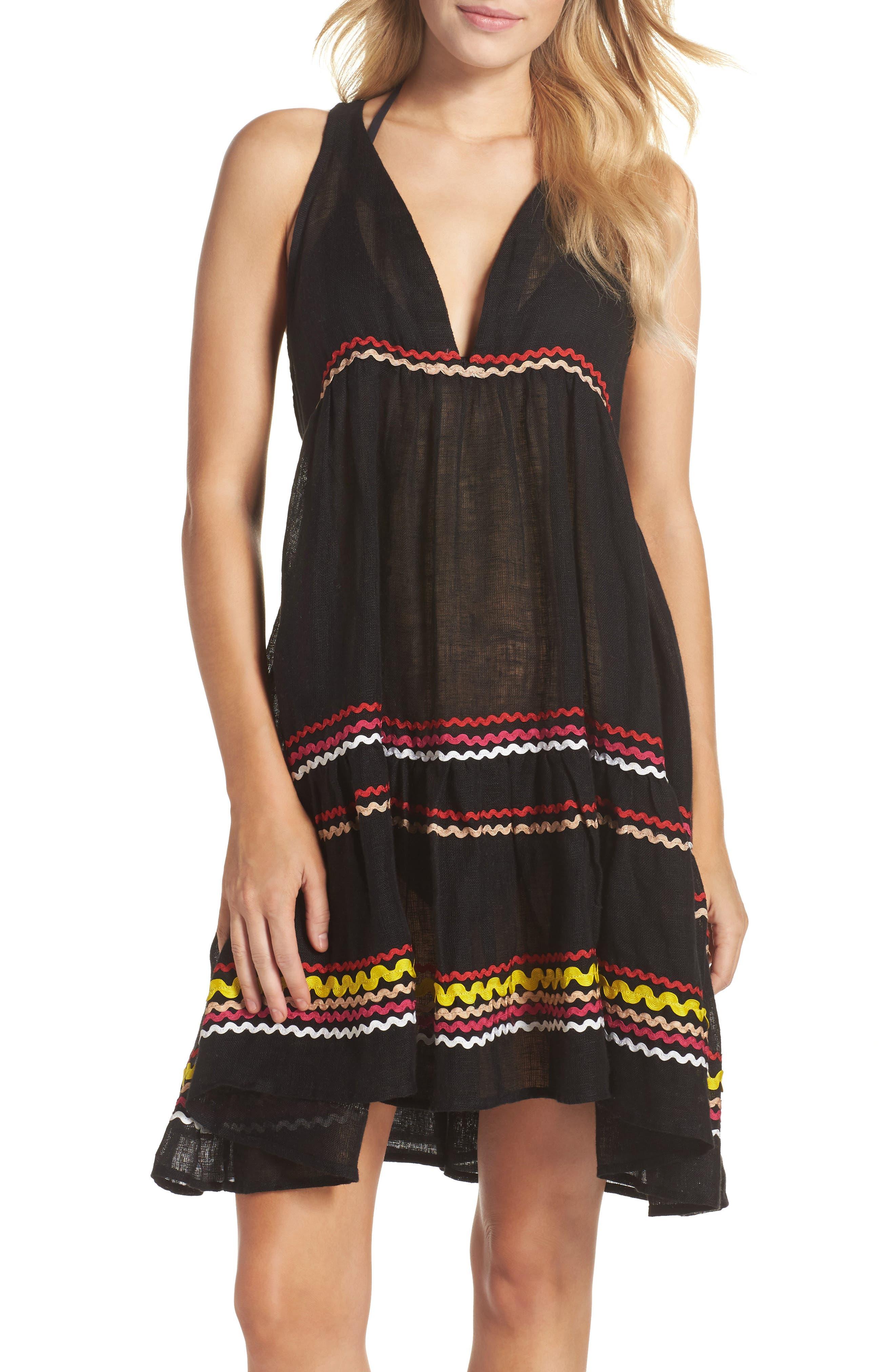 Mira Cover-Up Dress,                             Main thumbnail 1, color,                             001