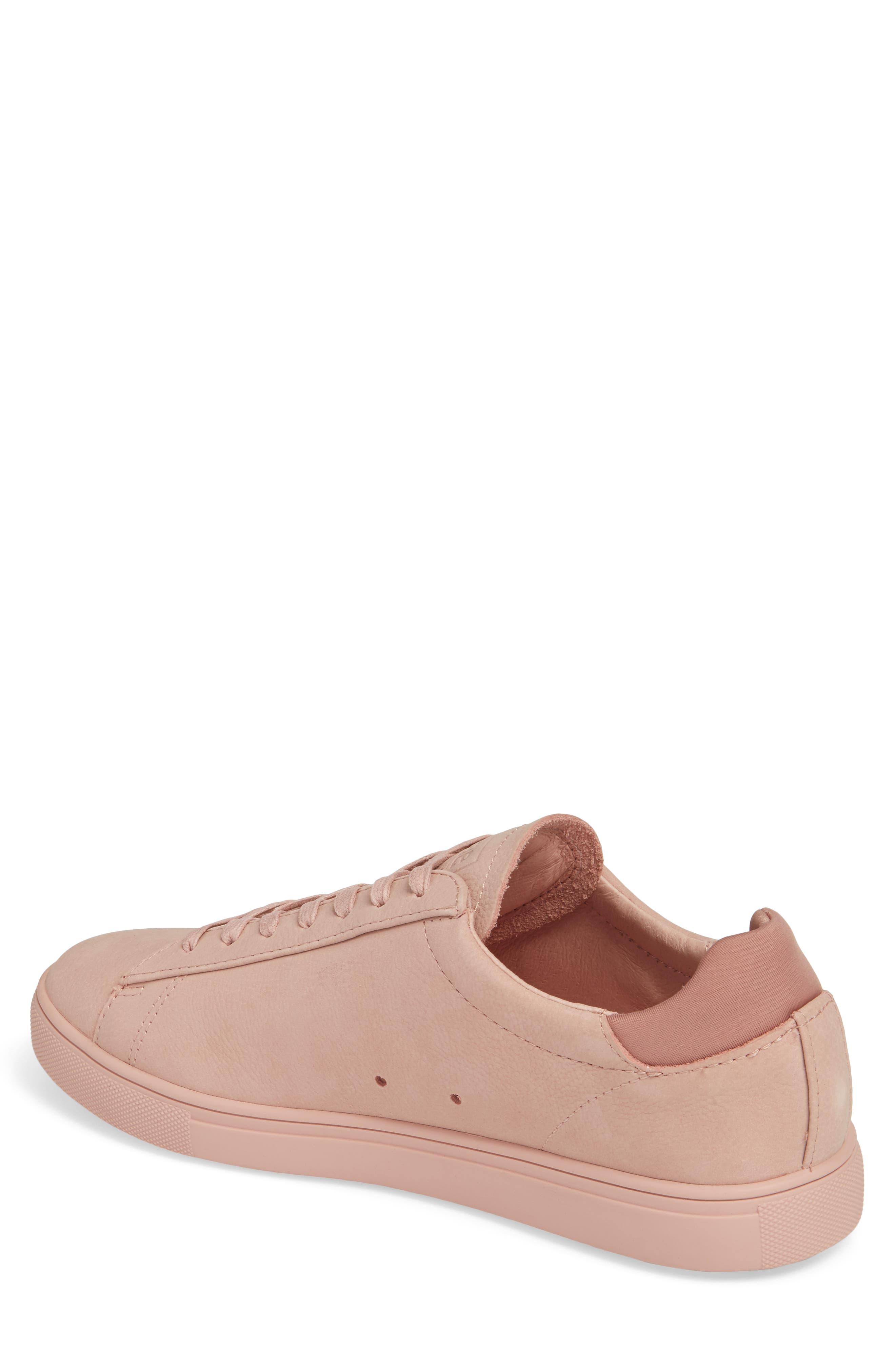 'Bradley' Sneaker,                             Alternate thumbnail 2, color,                             ROSE NUBUCK
