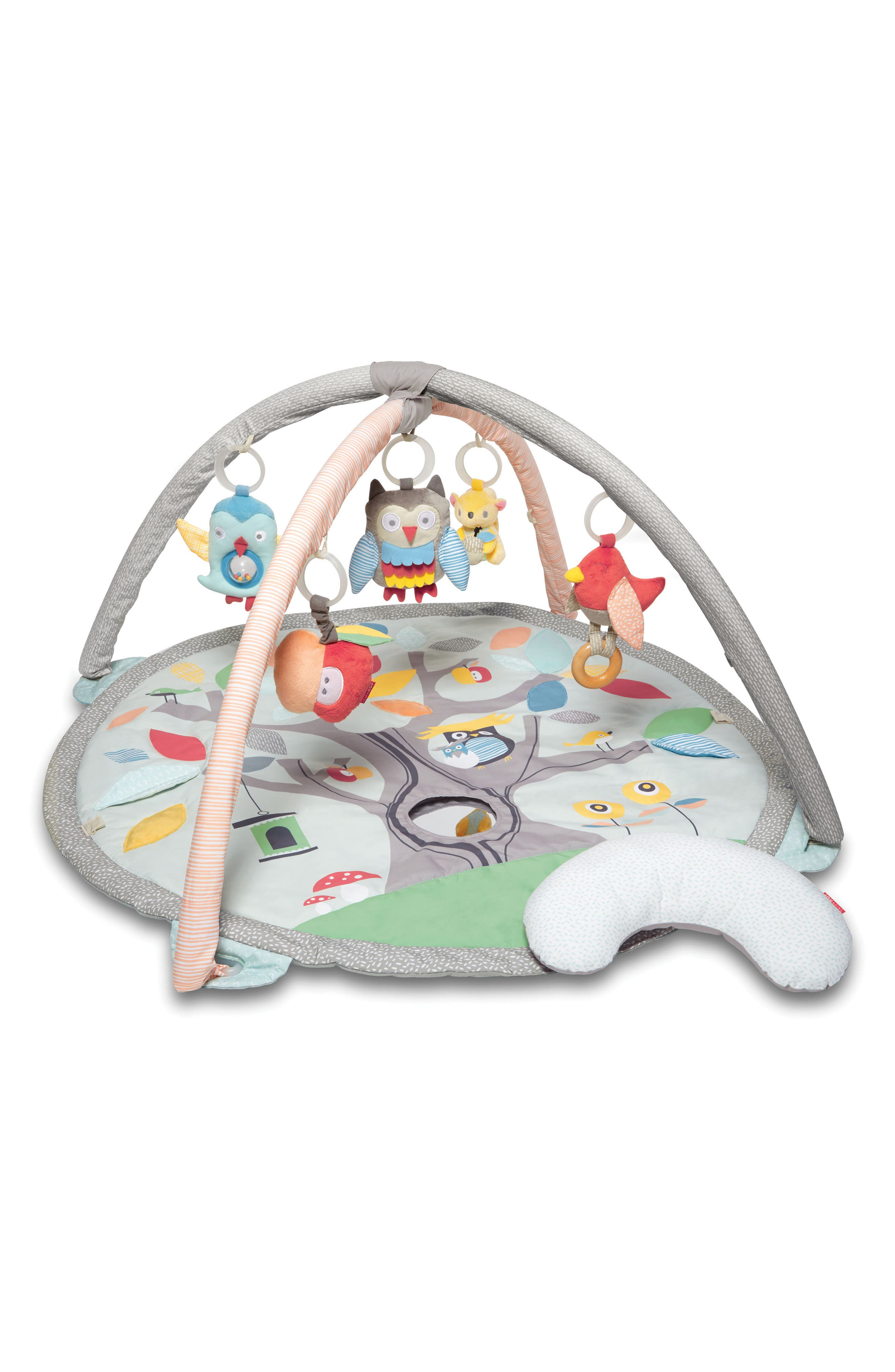'Treetop Friends' Activity Gym,                         Main,                         color, GREY PASTEL