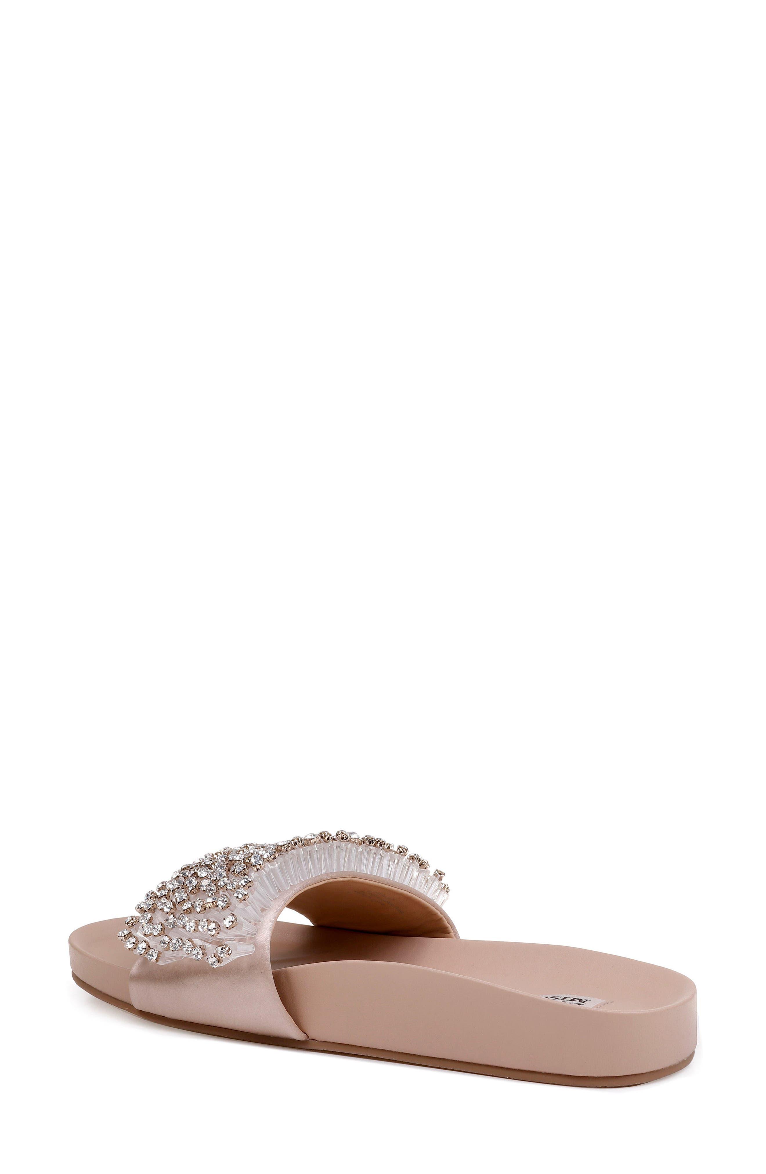 Horton Crystal Embellished Sandal,                             Alternate thumbnail 6, color,