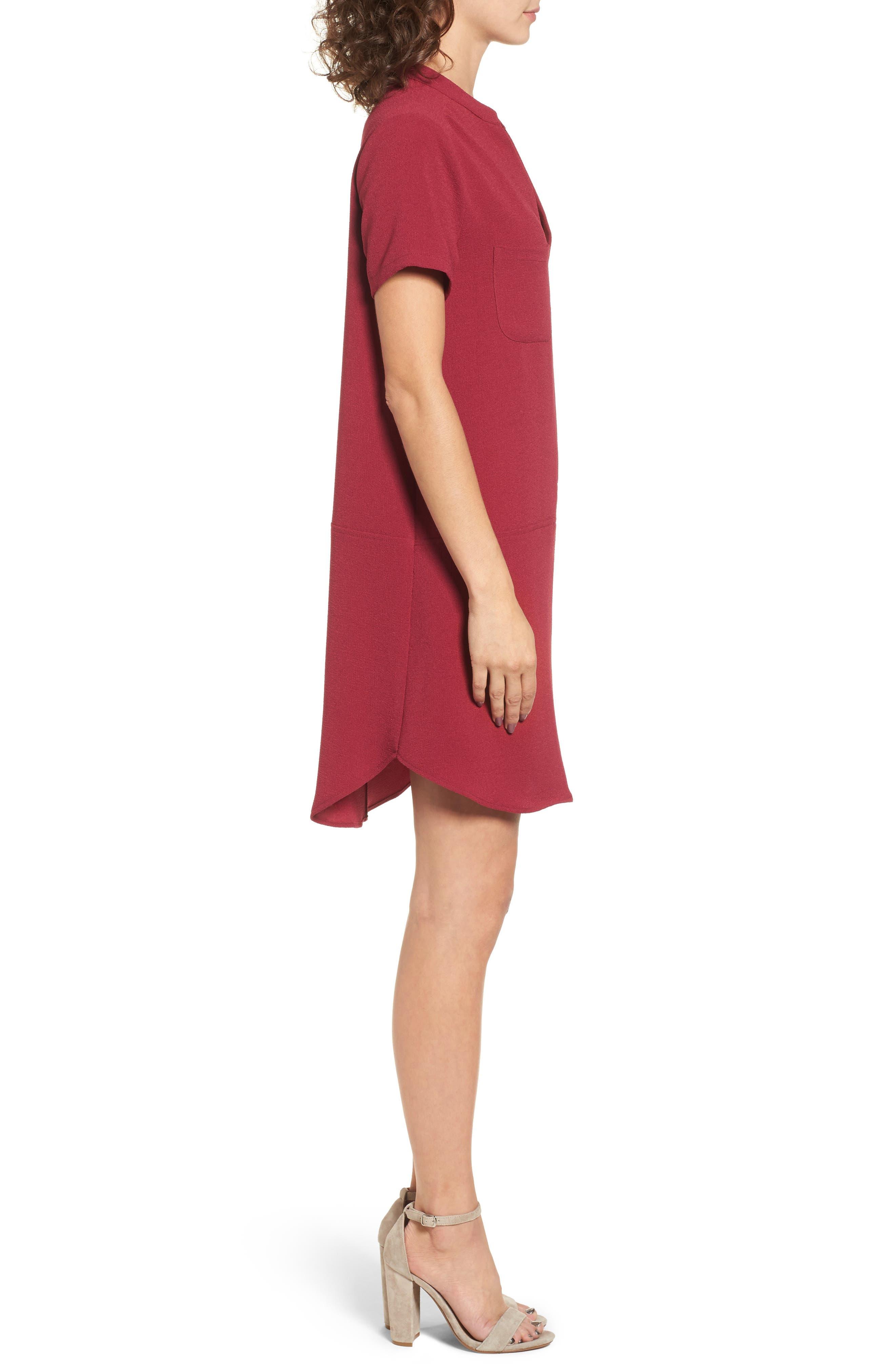 Hailey Crepe Dress,                             Alternate thumbnail 81, color,