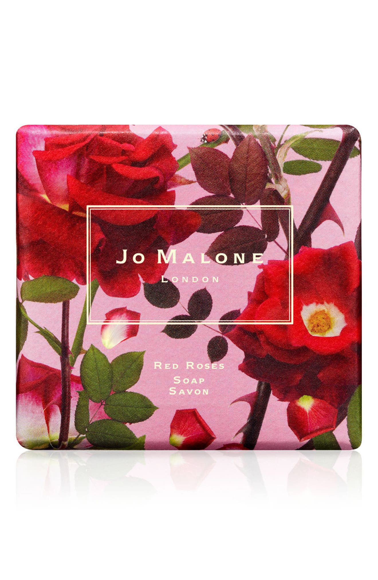 Red Roses Soap,                             Main thumbnail 1, color,                             NO COLOR