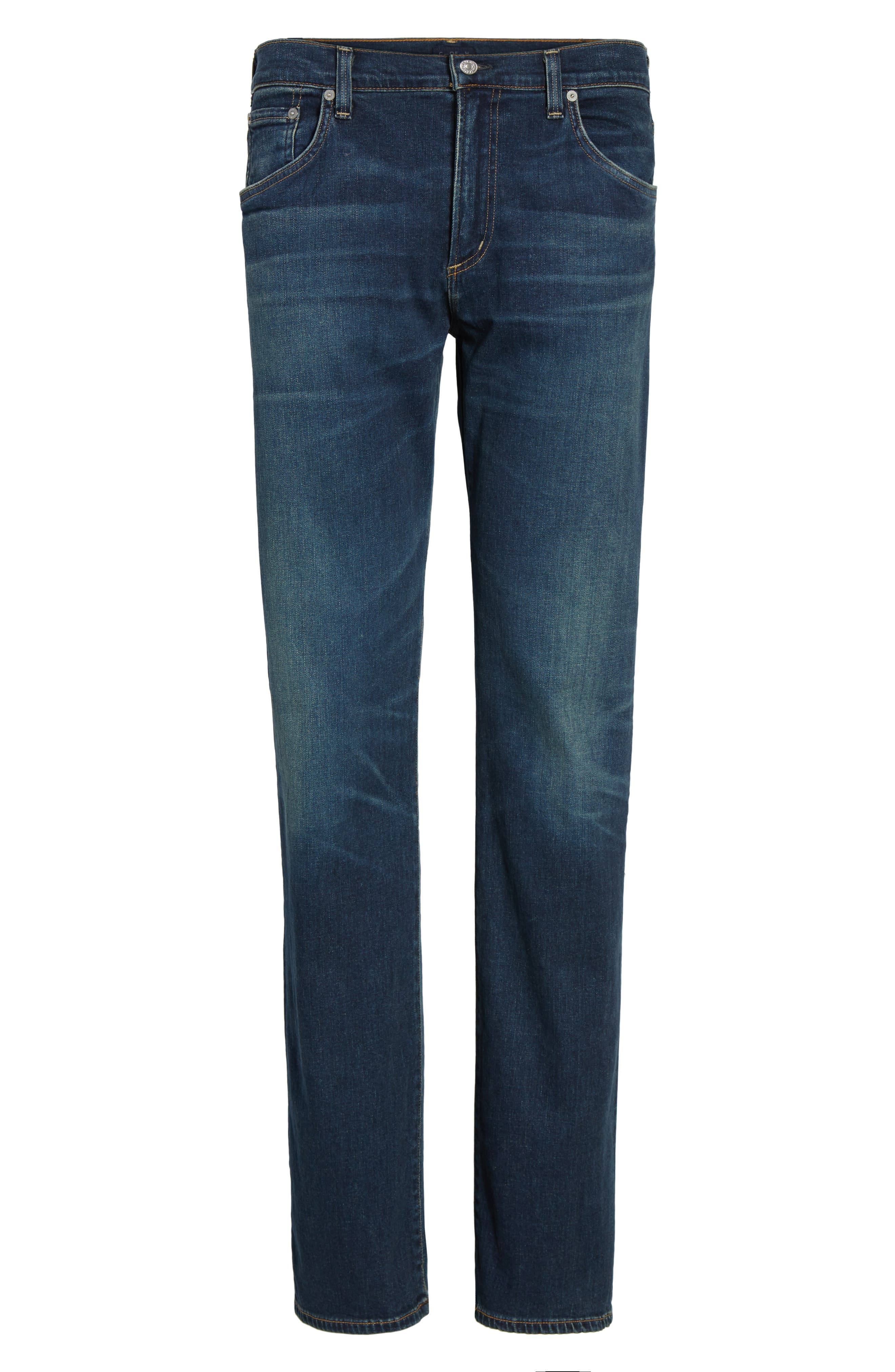 Sid Straight Leg Jeans,                             Alternate thumbnail 6, color,                             402
