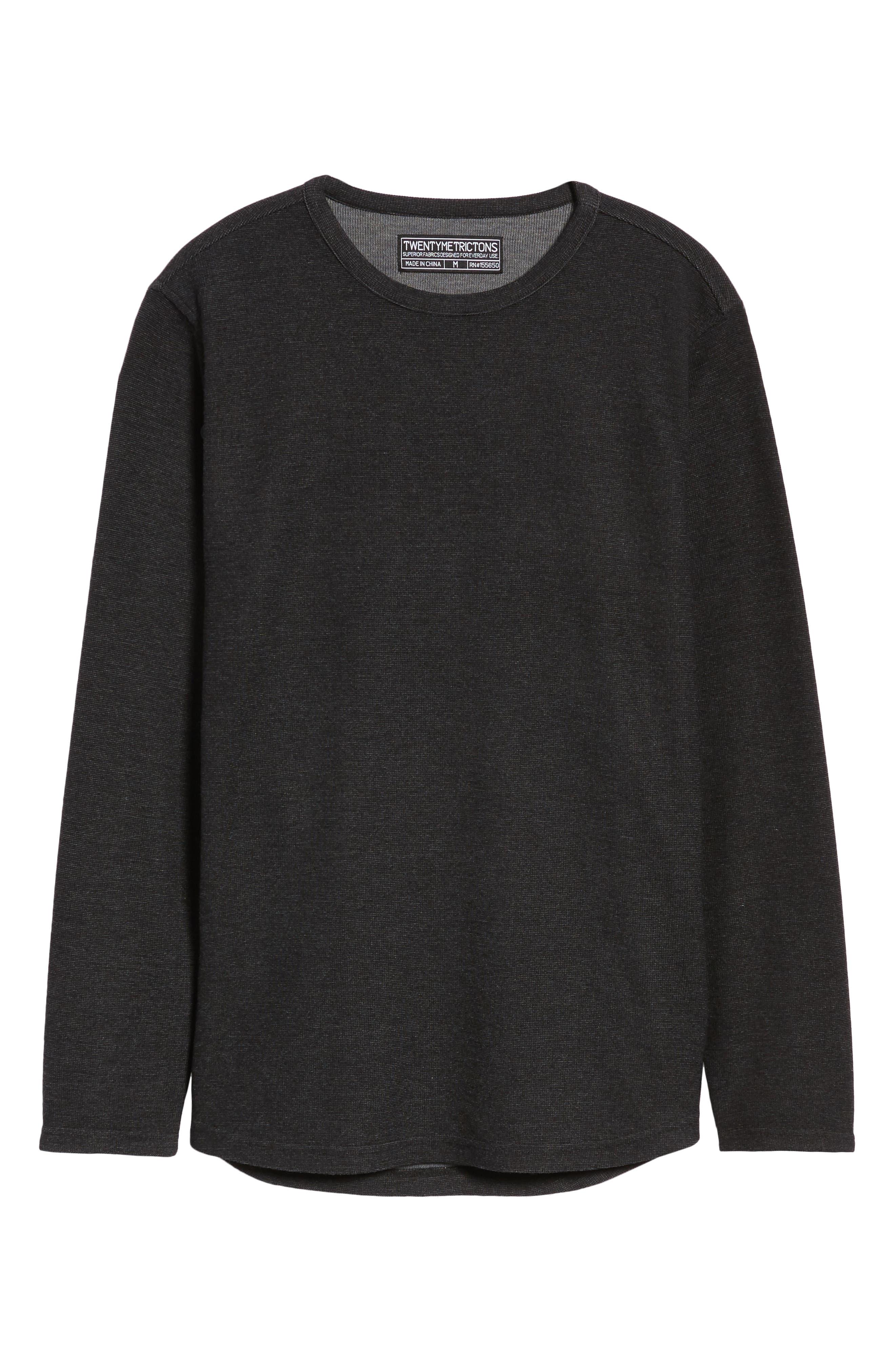 Trim Fit Clean Line Shirt,                             Alternate thumbnail 6, color,                             001