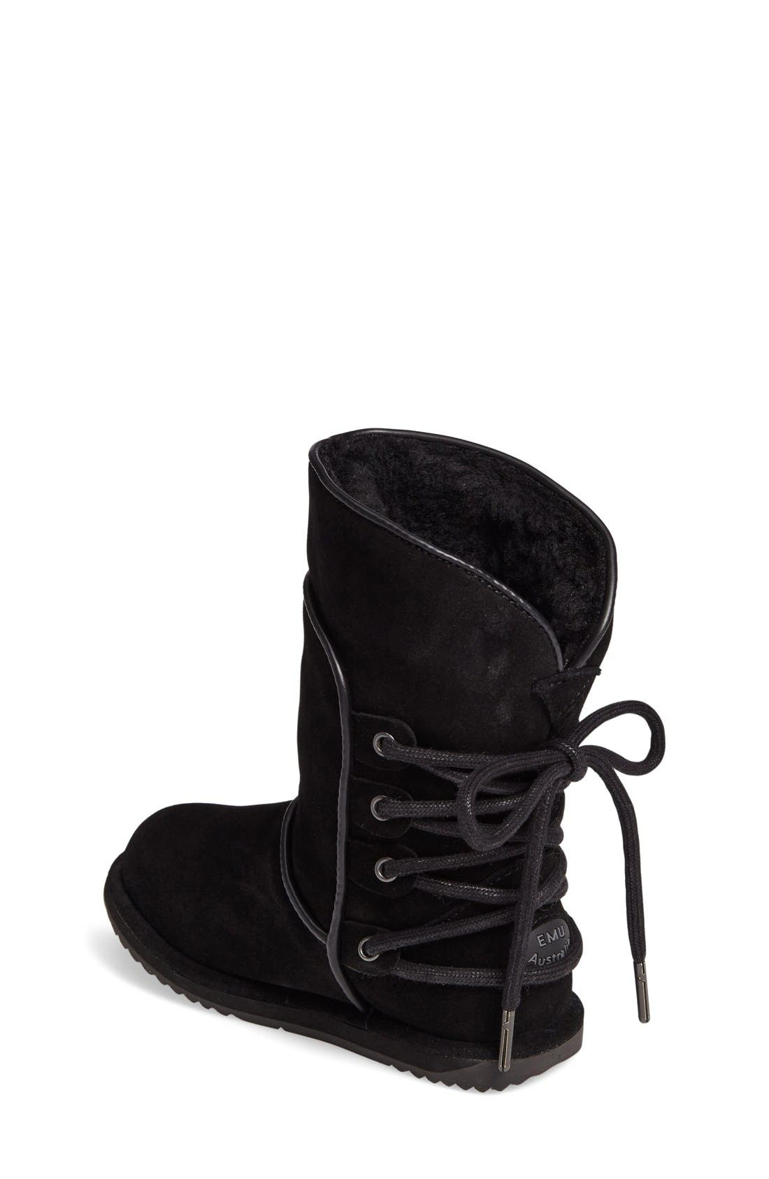 Islay Waterproof Boot,                             Alternate thumbnail 4, color,                             001