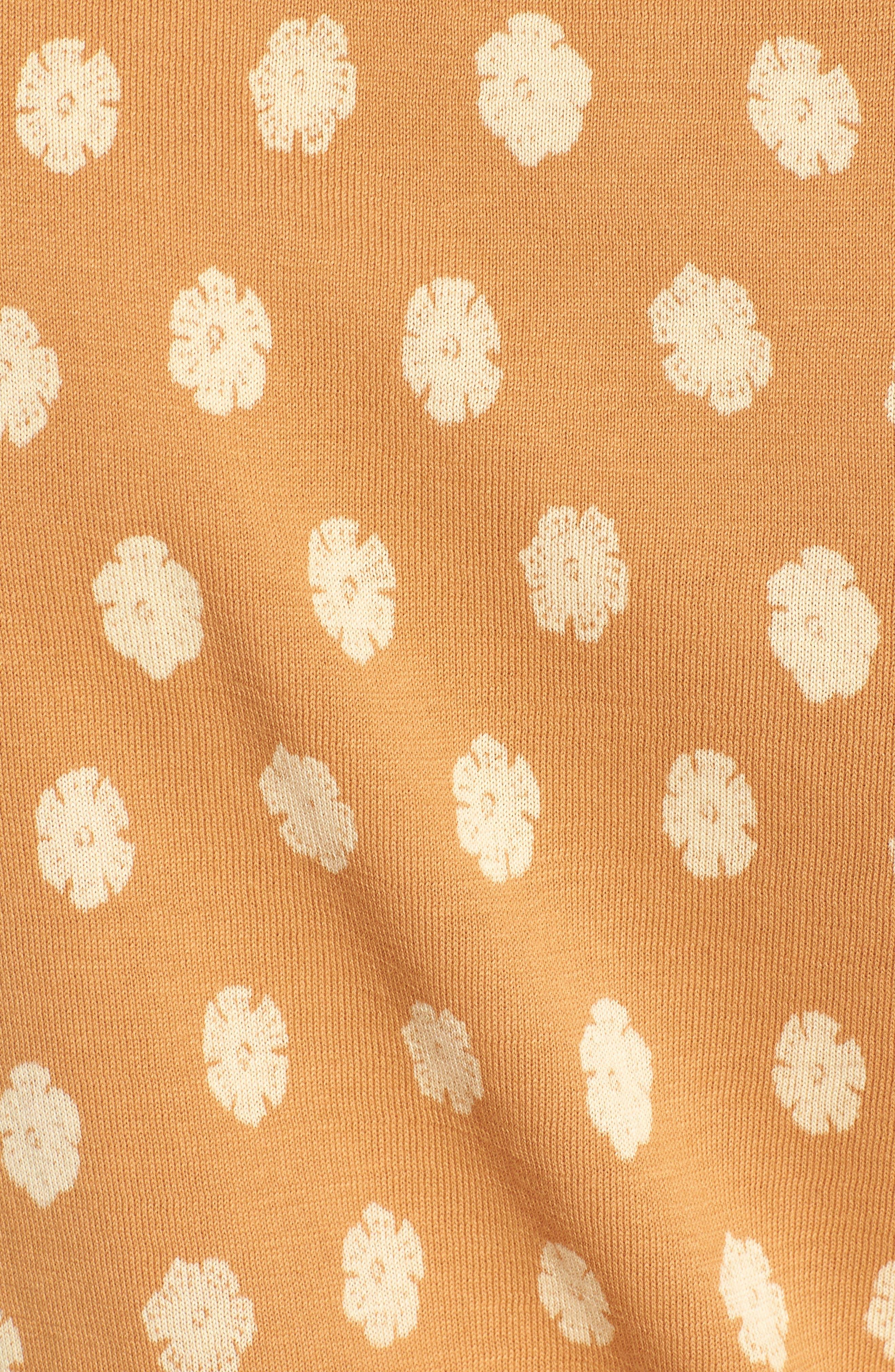 Superfine Hibiscus Slim Fit Polo,                             Alternate thumbnail 9, color,