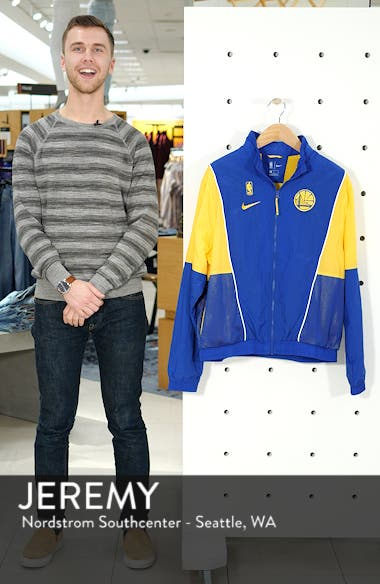 Golden State Warriors Track Jacket, sales video thumbnail
