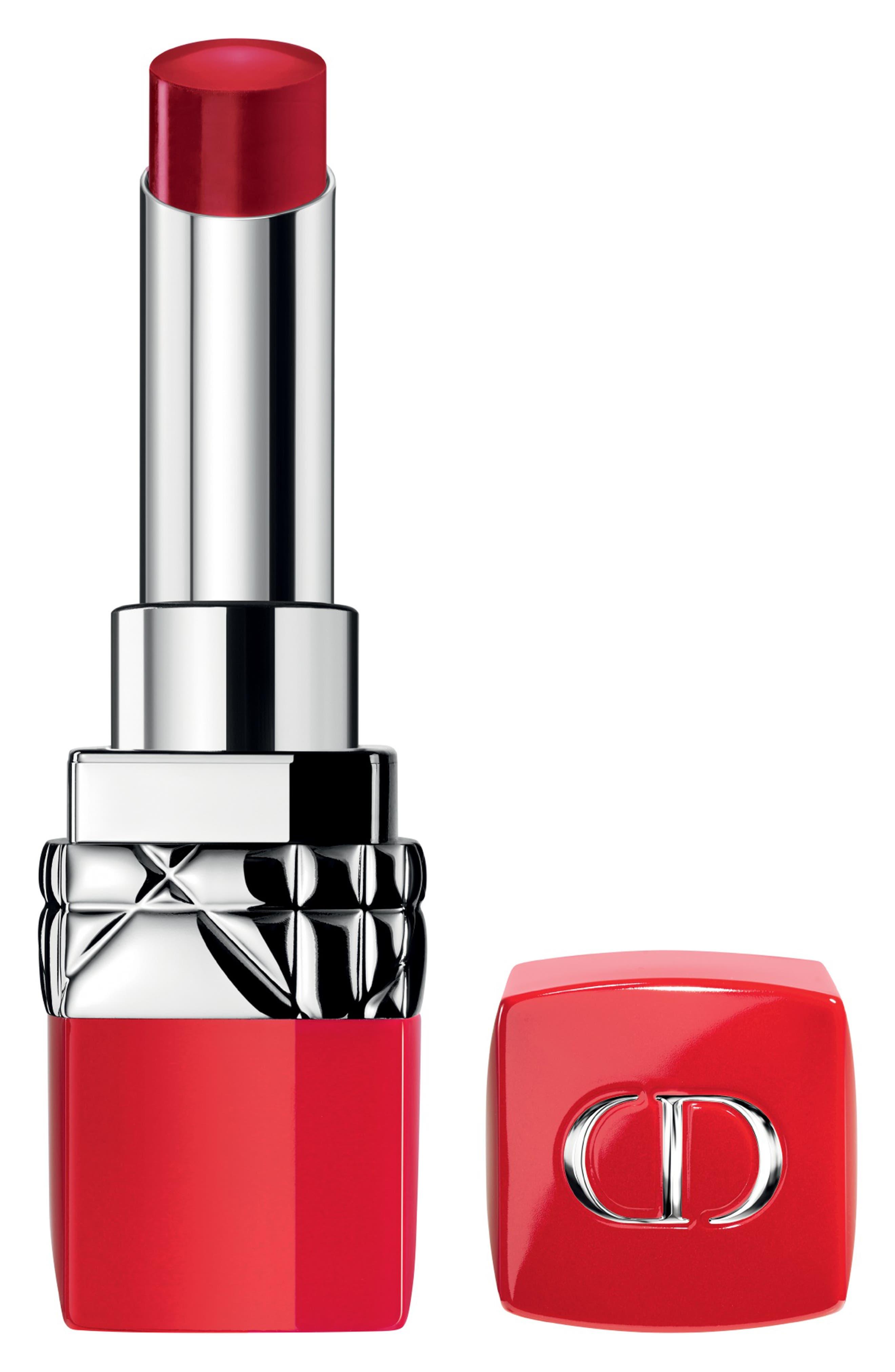Rouge Dior Ultra Rouge Pigmented Hydra Lipstick, Main, color, 863 ULTRA FEMININE