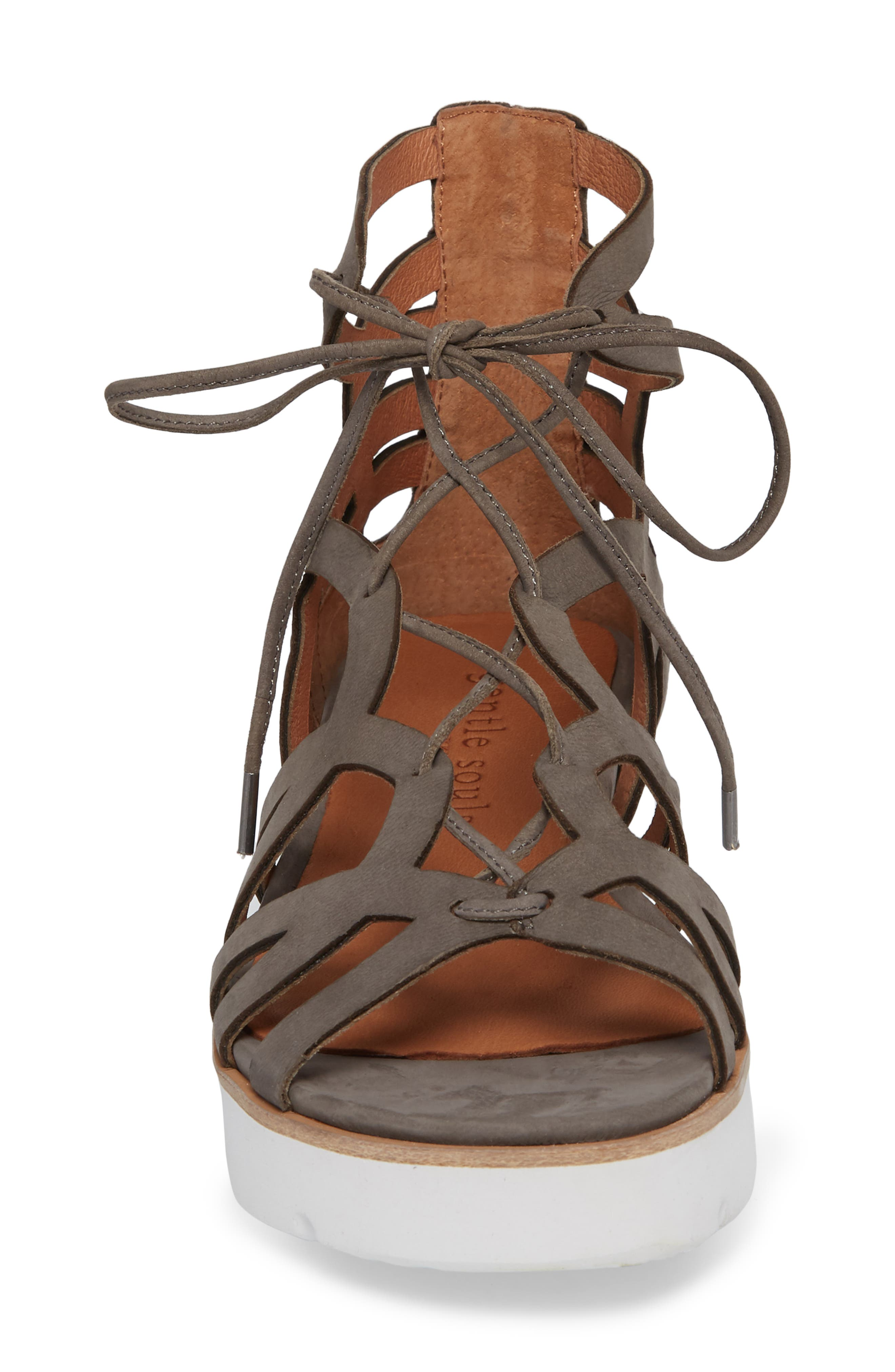 by Kenneth Cole Larina Lace-Up Sandal,                             Alternate thumbnail 11, color,