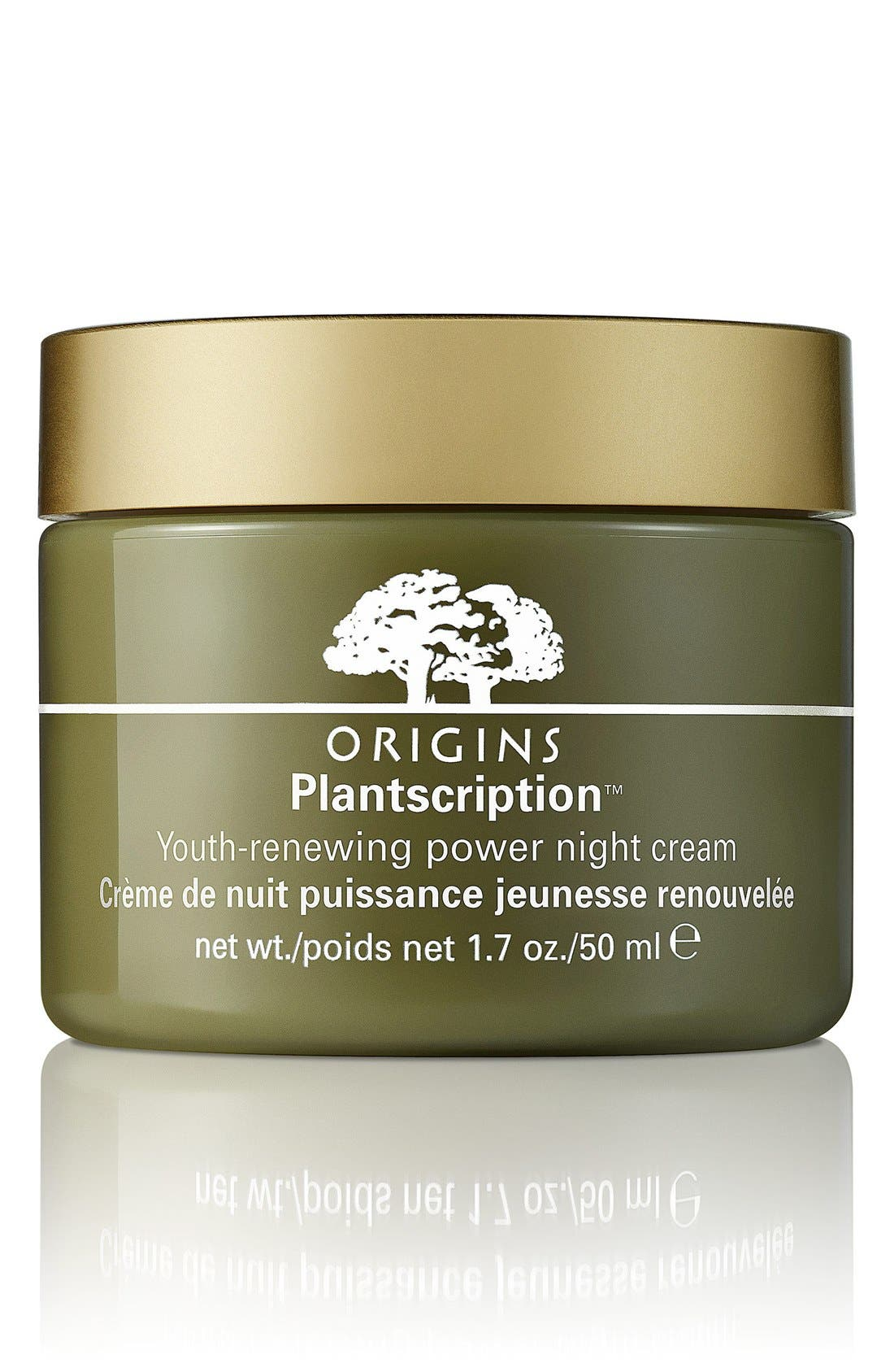 Plantscriptions<sup>™</sup> Youth-Renewing Power Night Cream,                             Main thumbnail 1, color,                             NO COLOR