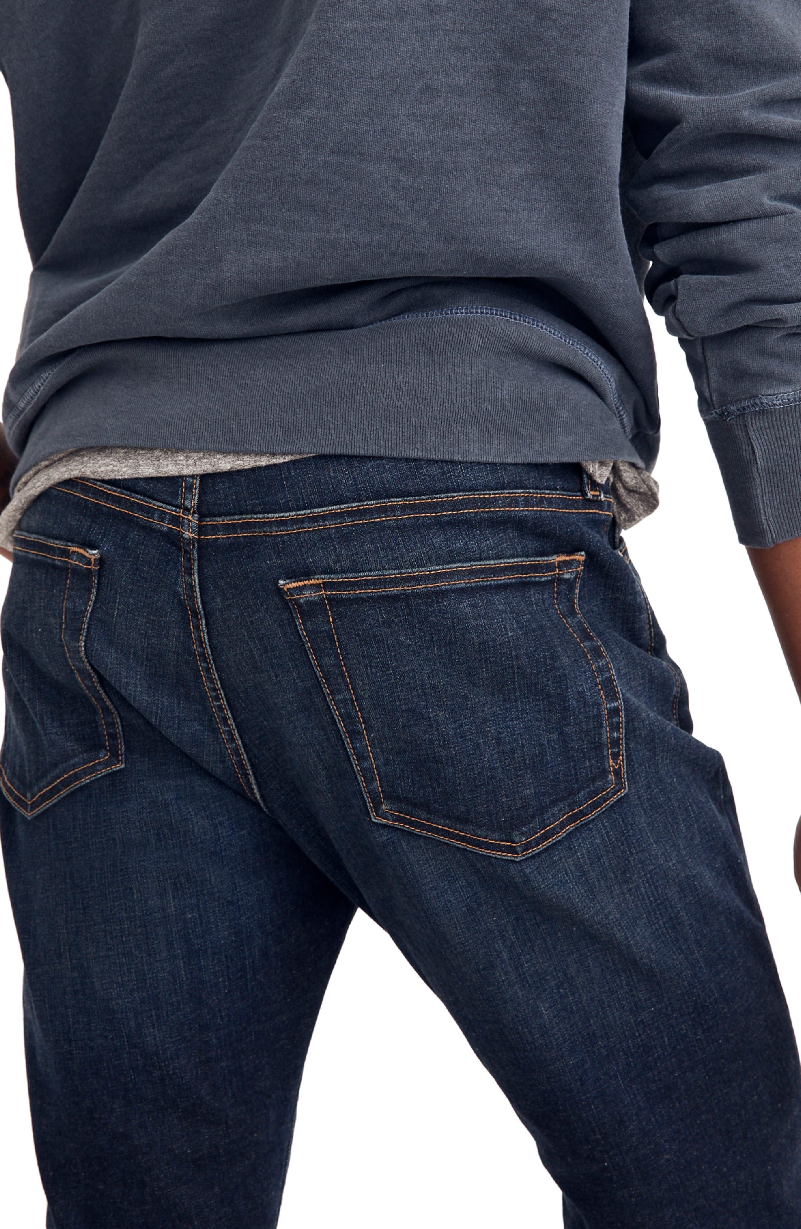 Slim Straight Fit Jeans,                             Alternate thumbnail 2, color,                             BRENFORD