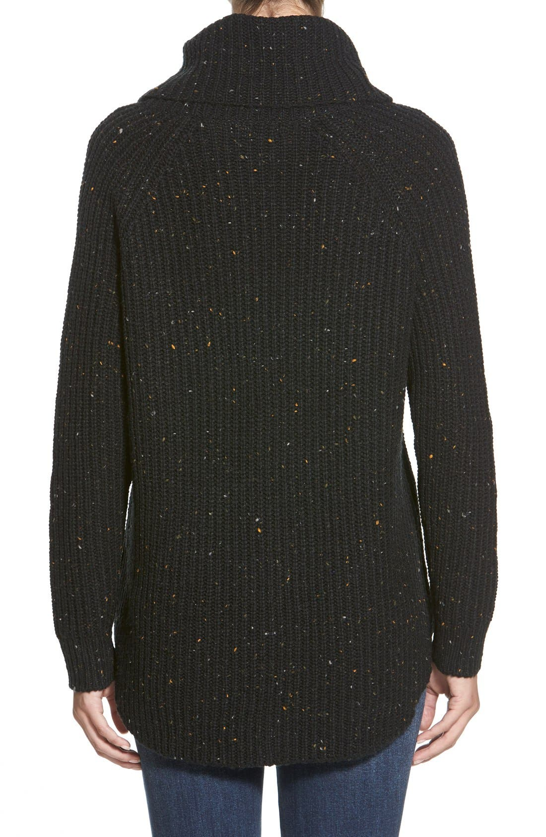 Turtleneck Sweater,                             Alternate thumbnail 2, color,                             001