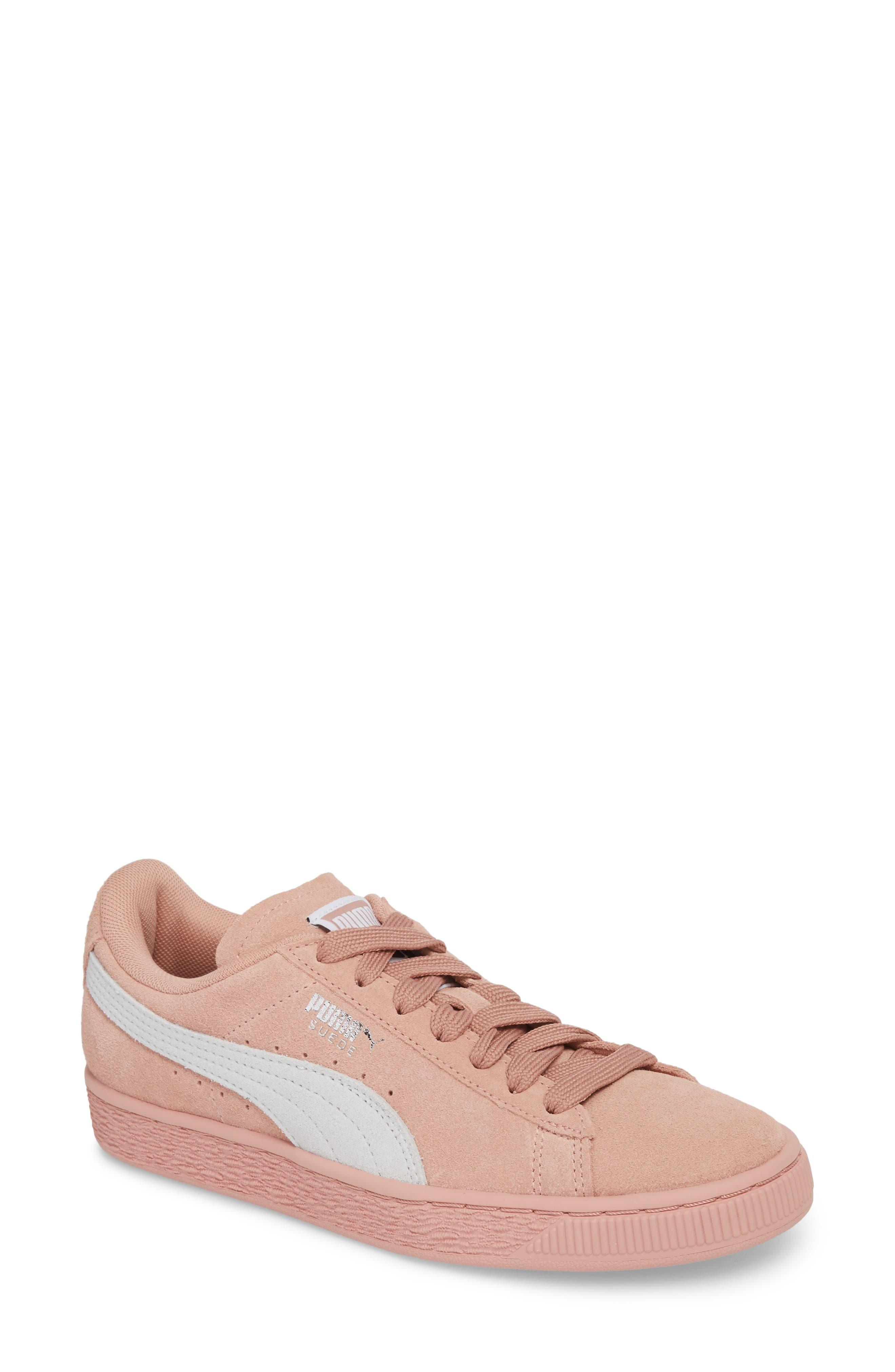 Suede Sneaker,                             Main thumbnail 4, color,