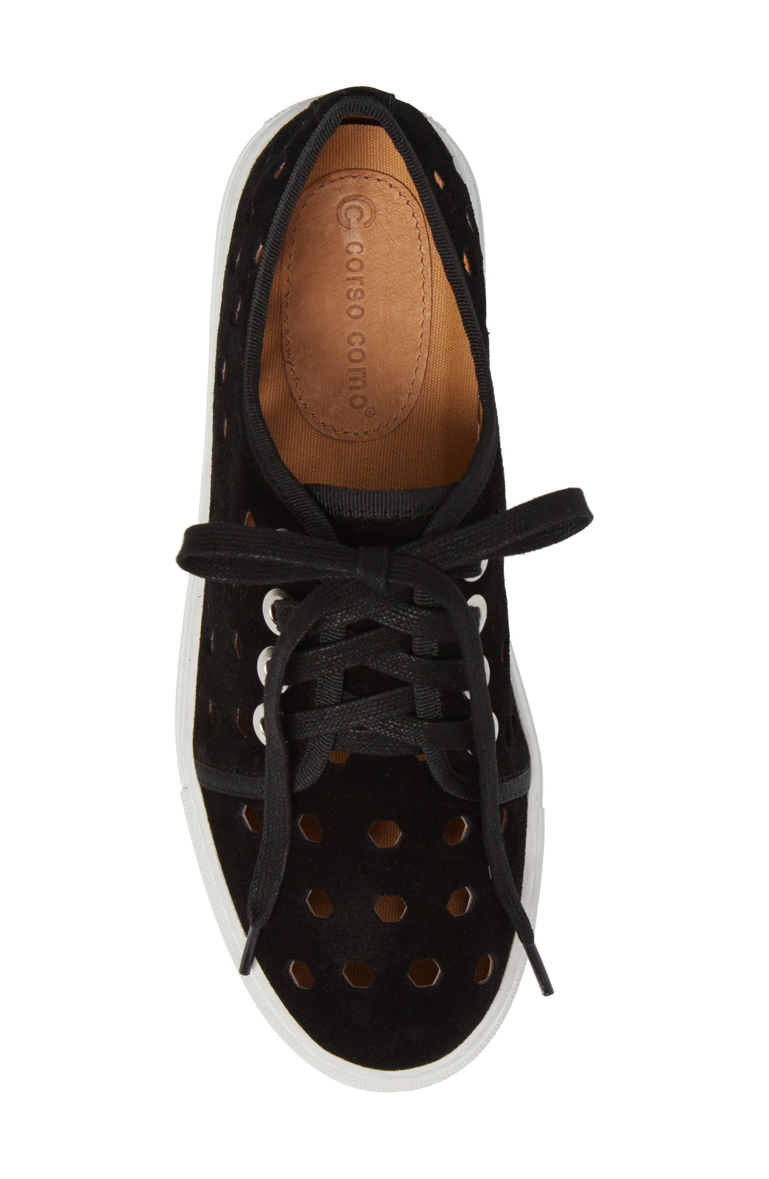 Rasta Perforated Sneaker,                             Alternate thumbnail 13, color,