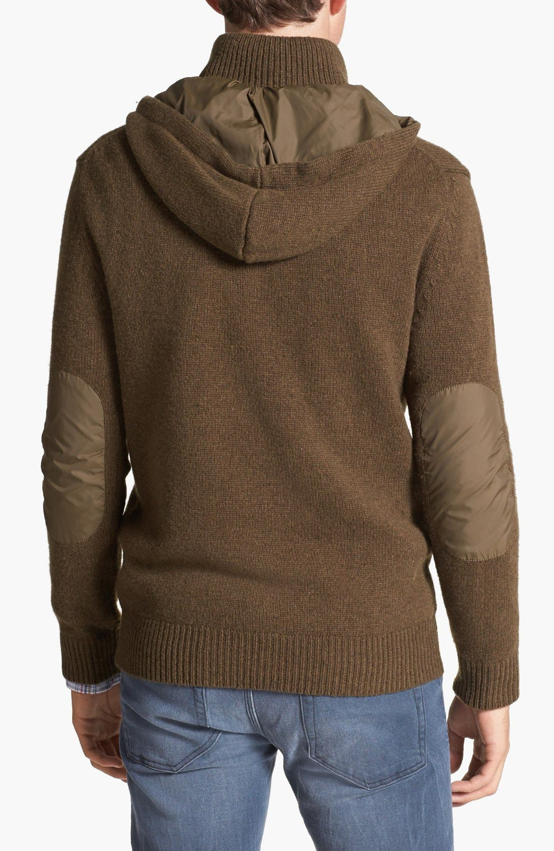 'Infantry' Wool Blend Sweater,                             Alternate thumbnail 3, color,                             341