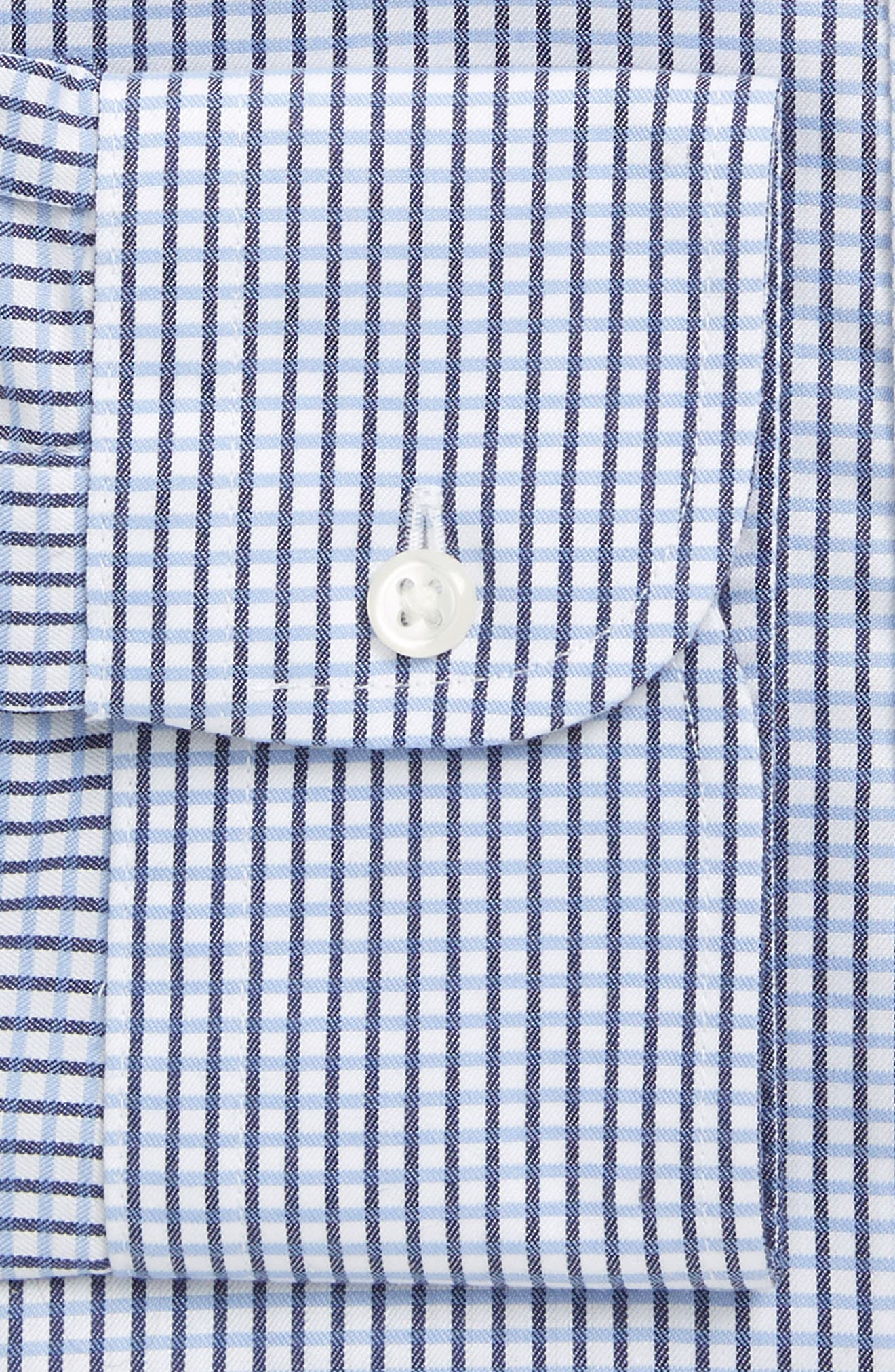 Smartcare<sup>™</sup> Classic Fit Check Dress Shirt,                             Alternate thumbnail 8, color,