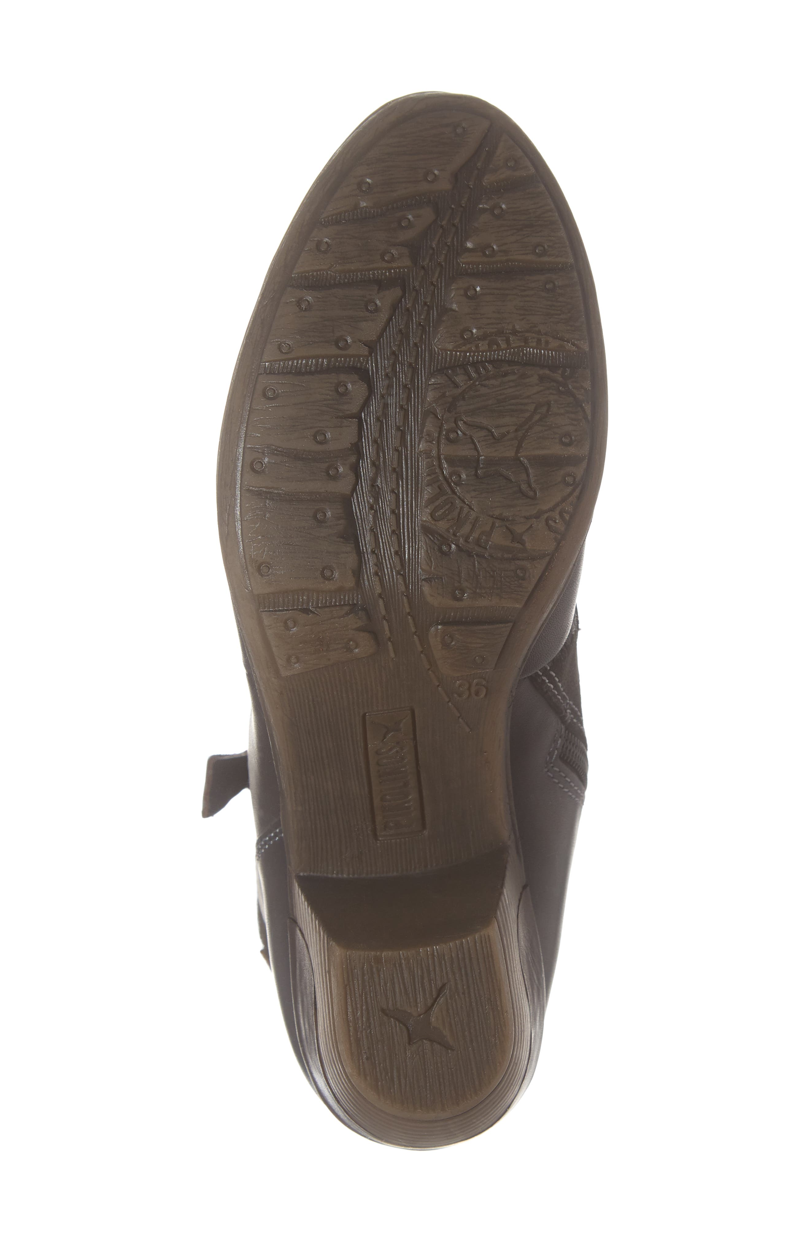 Rotterdam Bootie,                             Alternate thumbnail 6, color,                             LEAD LEATHER