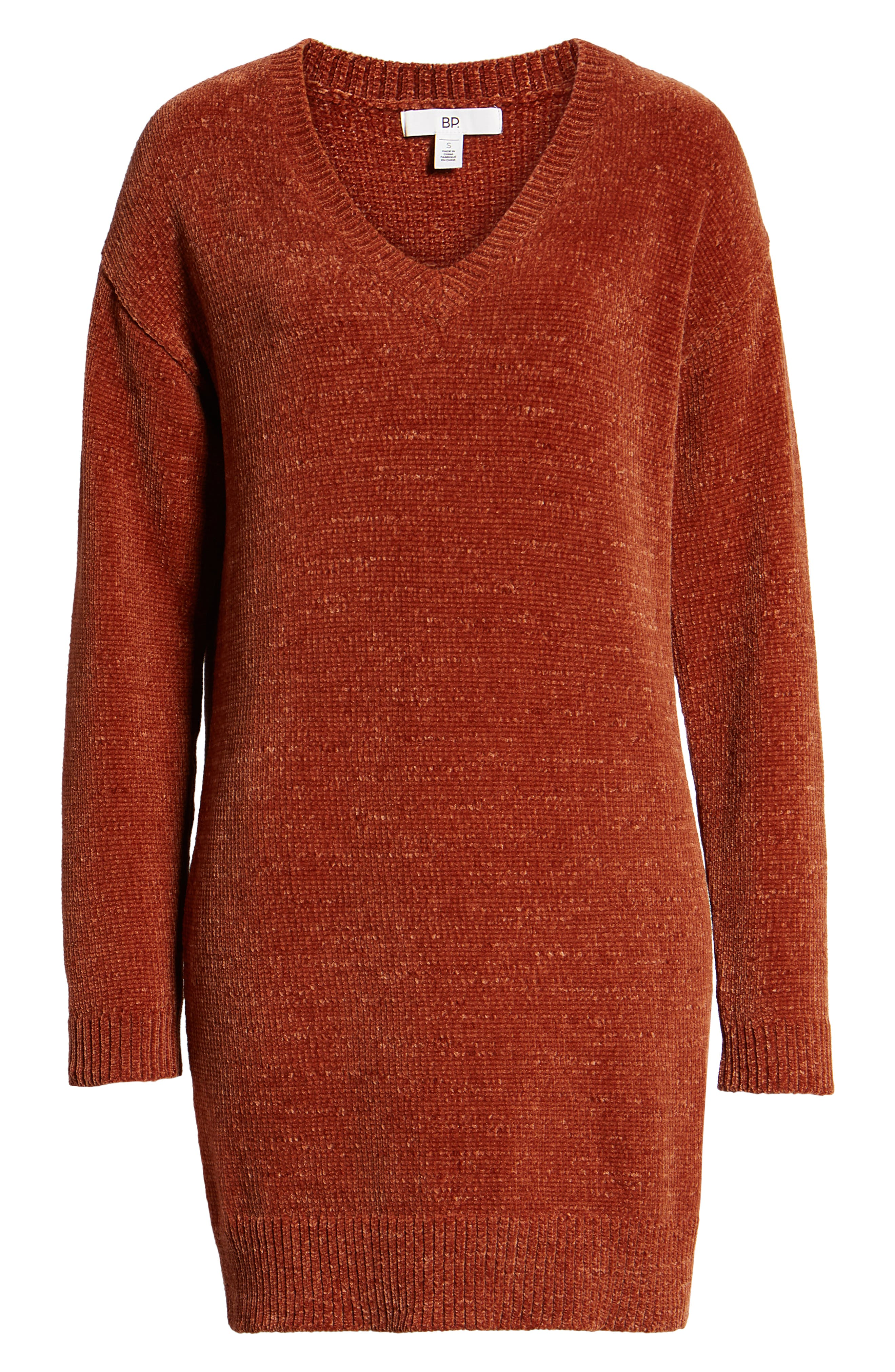 Chenille Sweater Dress,                             Alternate thumbnail 7, color,                             221